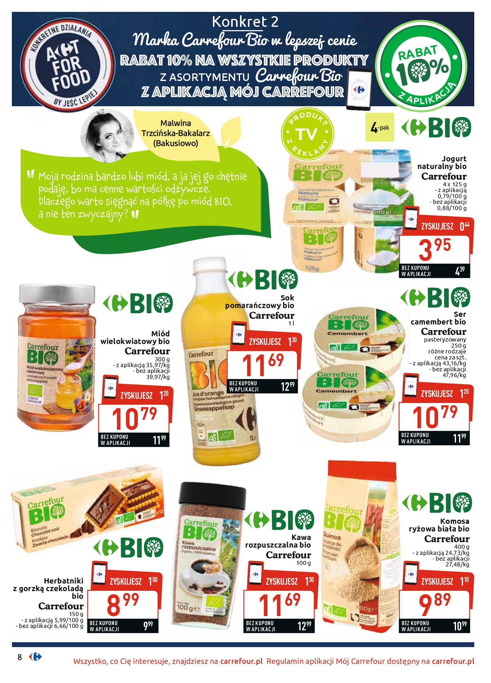 Gazetka Carrefour - BIO na zdrowie-03.06.2019-22.06.2019-page-8