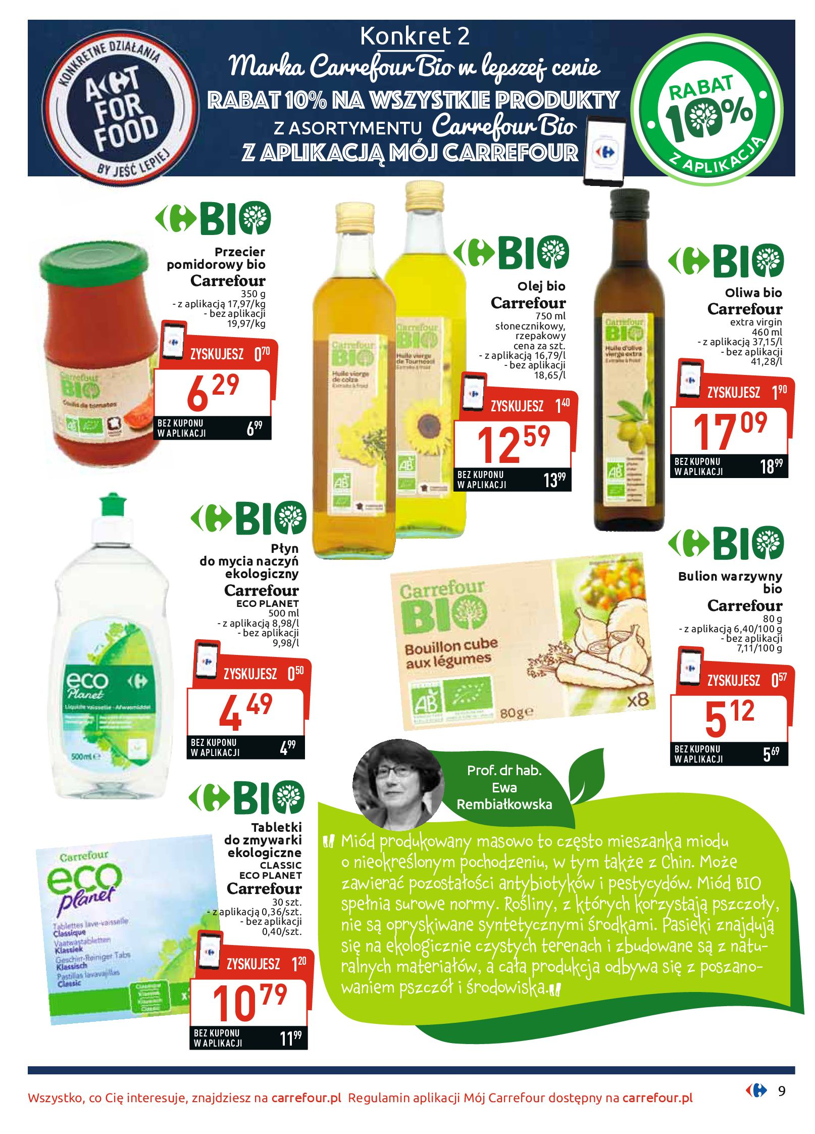 Gazetka Carrefour - BIO na zdrowie-03.06.2019-22.06.2019-page-9