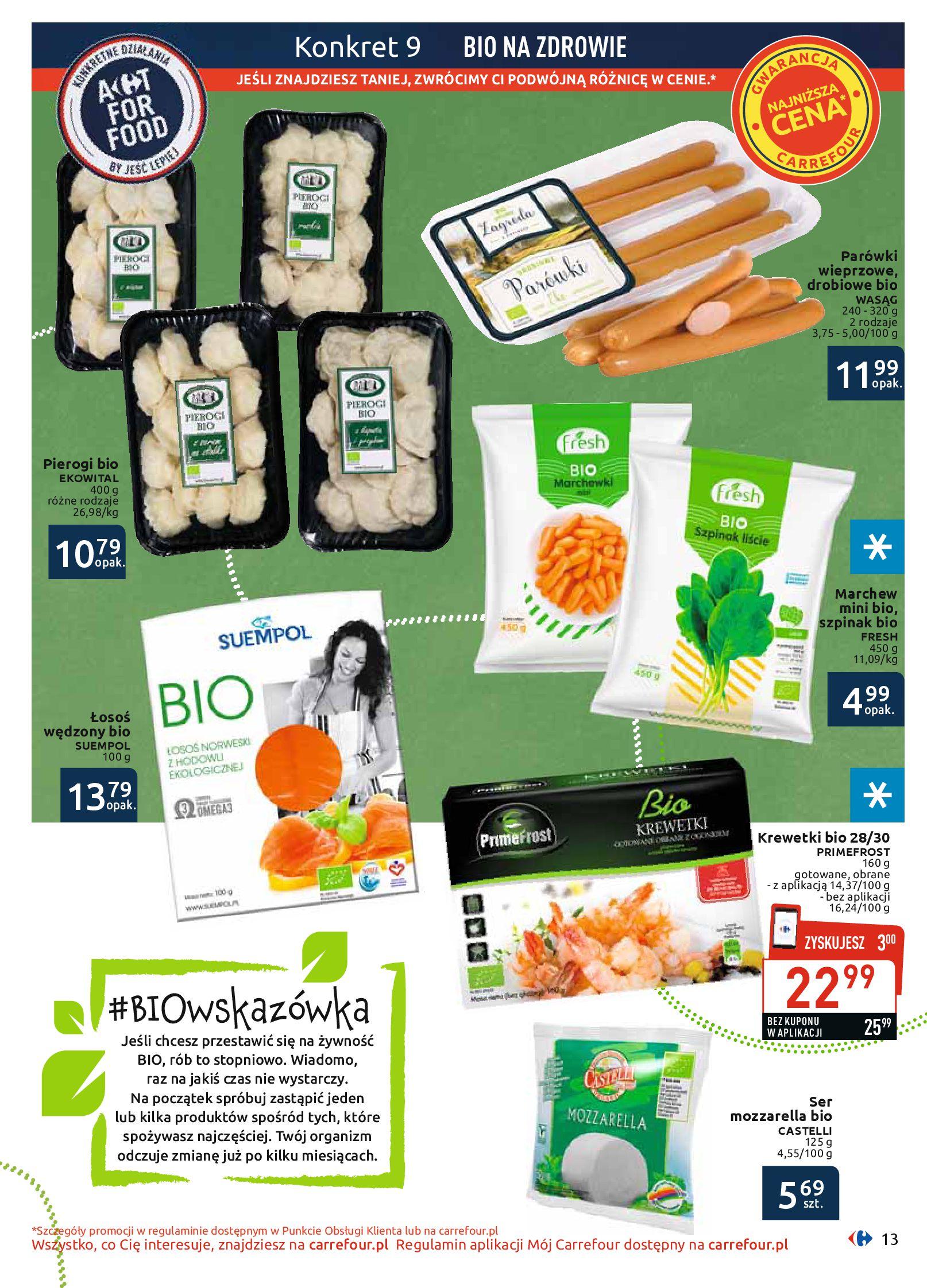 Gazetka Carrefour - BIO na zdrowie-03.06.2019-22.06.2019-page-13