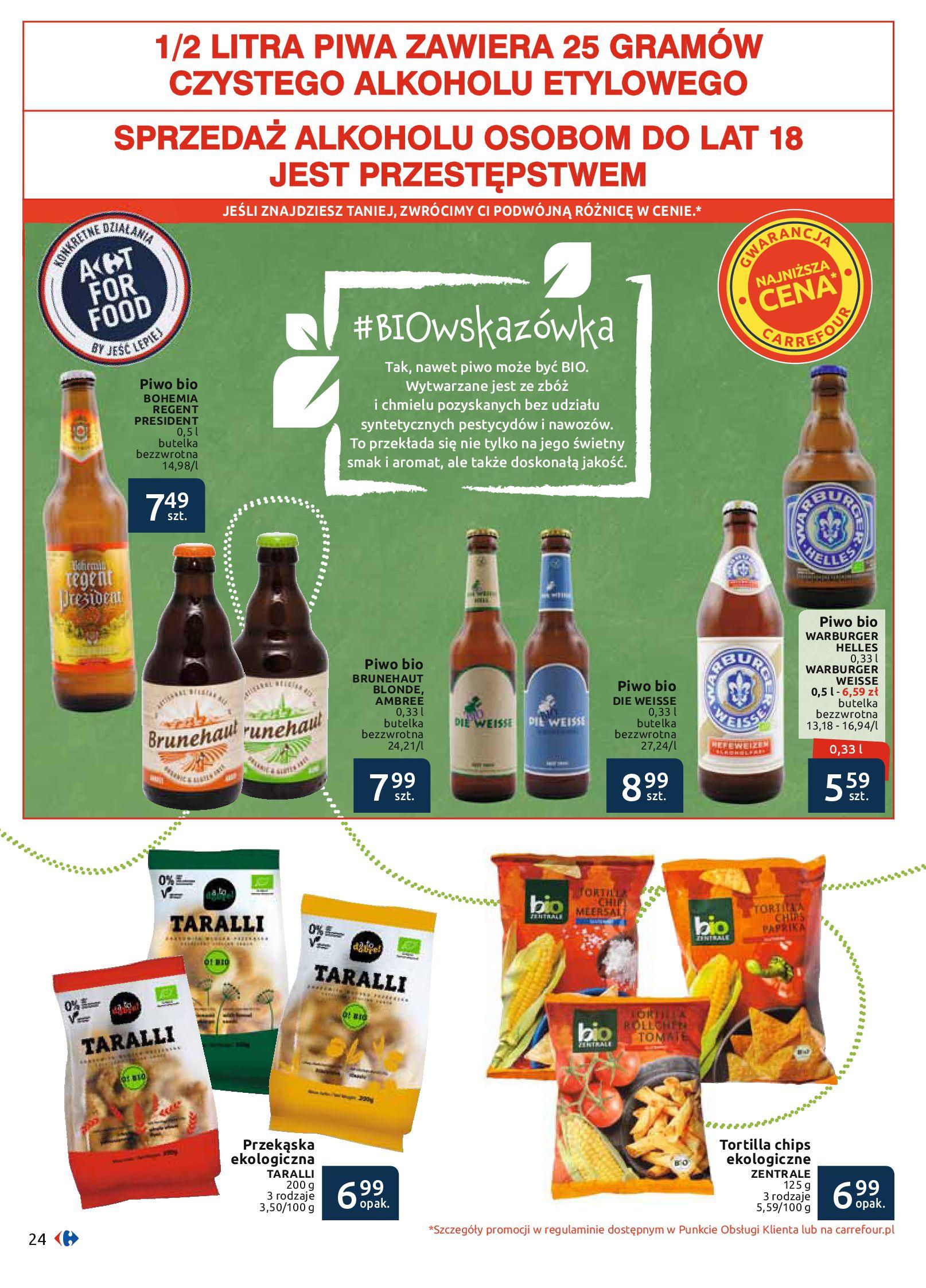Gazetka Carrefour - BIO na zdrowie-03.06.2019-22.06.2019-page-24