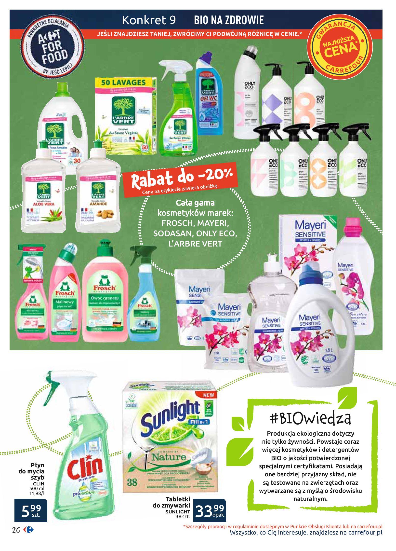 Gazetka Carrefour - BIO na zdrowie-03.06.2019-22.06.2019-page-26