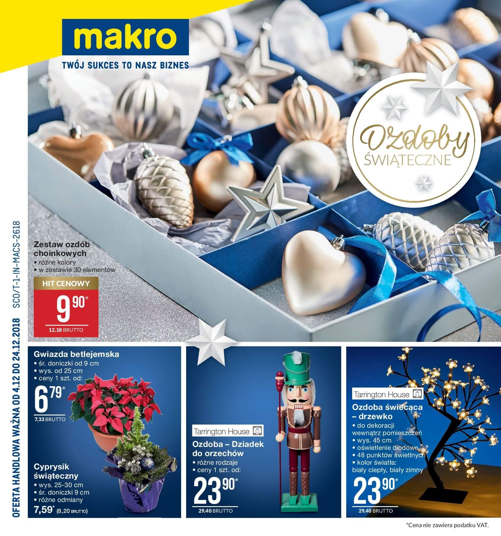 Gazetka Makro - Ozdoby świąteczne-02.12.2018-24.12.2018-page-