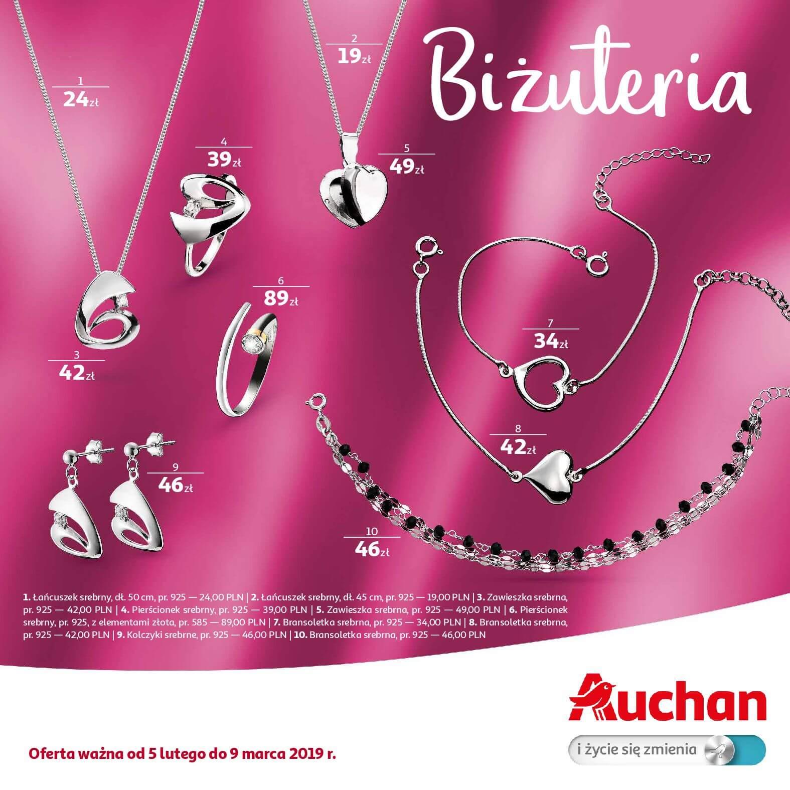 Gazetka Auchan - Biżuteria-04.02.2019-09.03.2019-page-