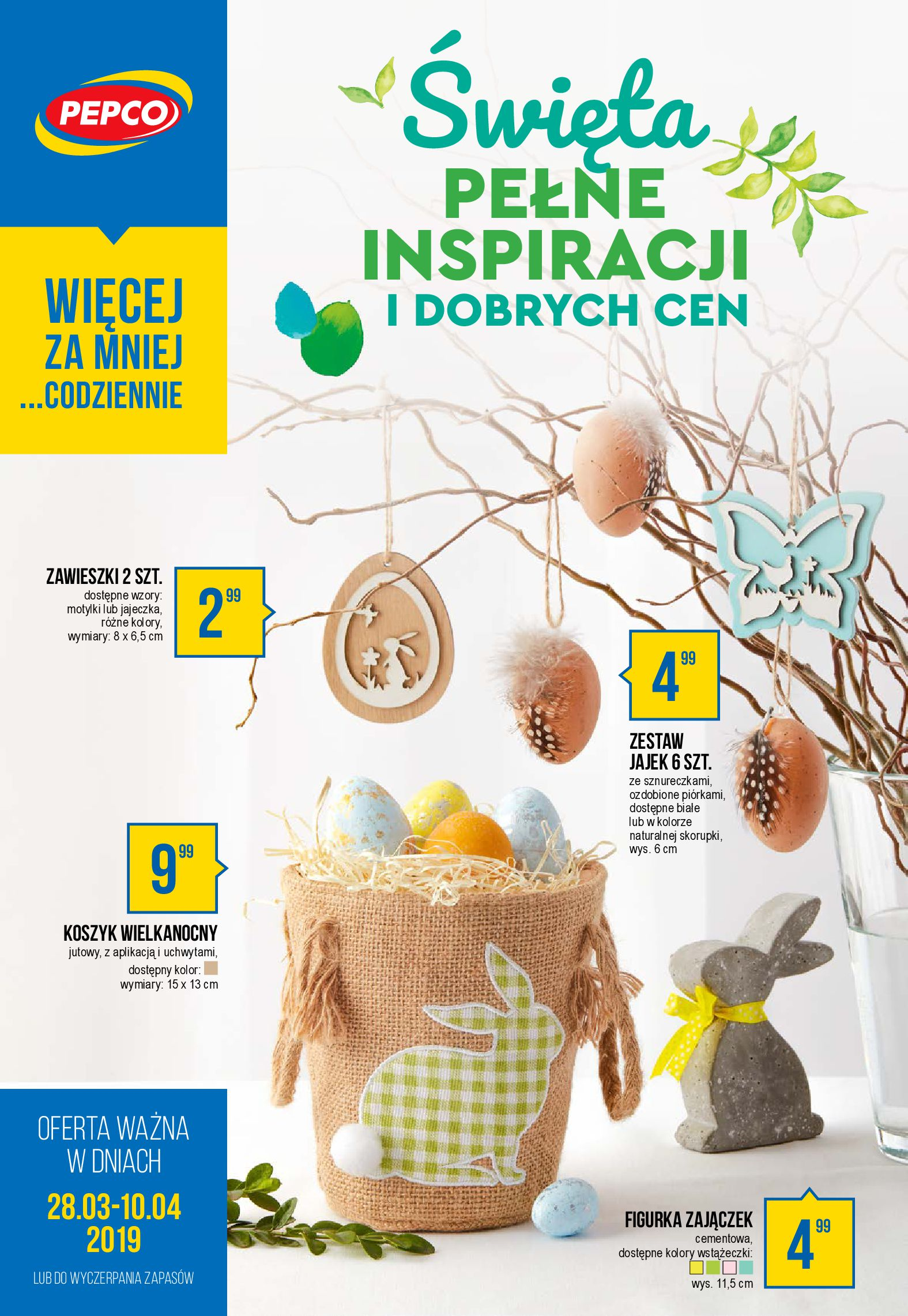 Gazetka Pepco - Święta pełne inspiracji i dobrych cen-27.03.2019-10.05.2019-page-