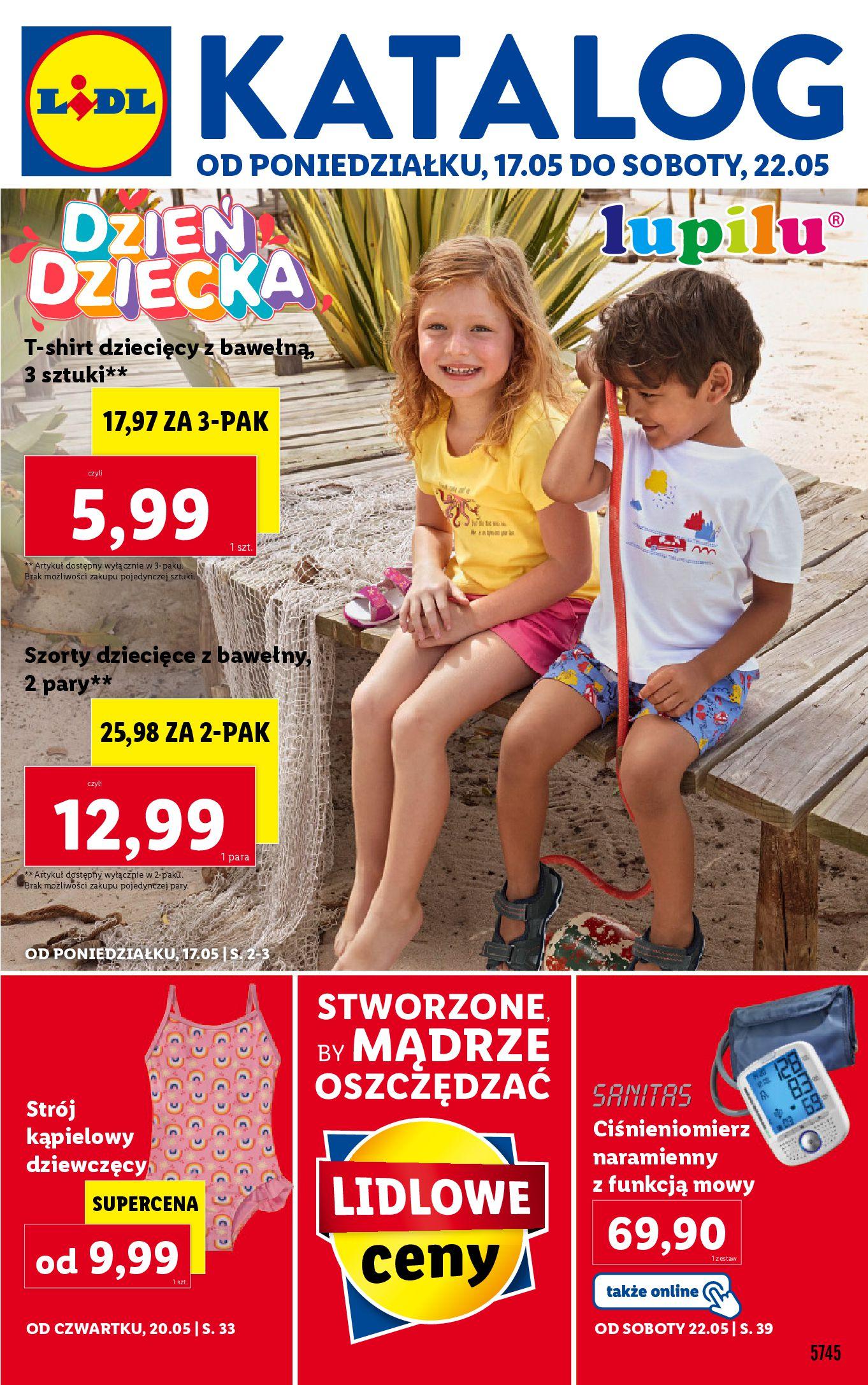 Gazetka Lidl: Gazetka Lidl - Dzień Dziecka Katalog - 16.05.2021