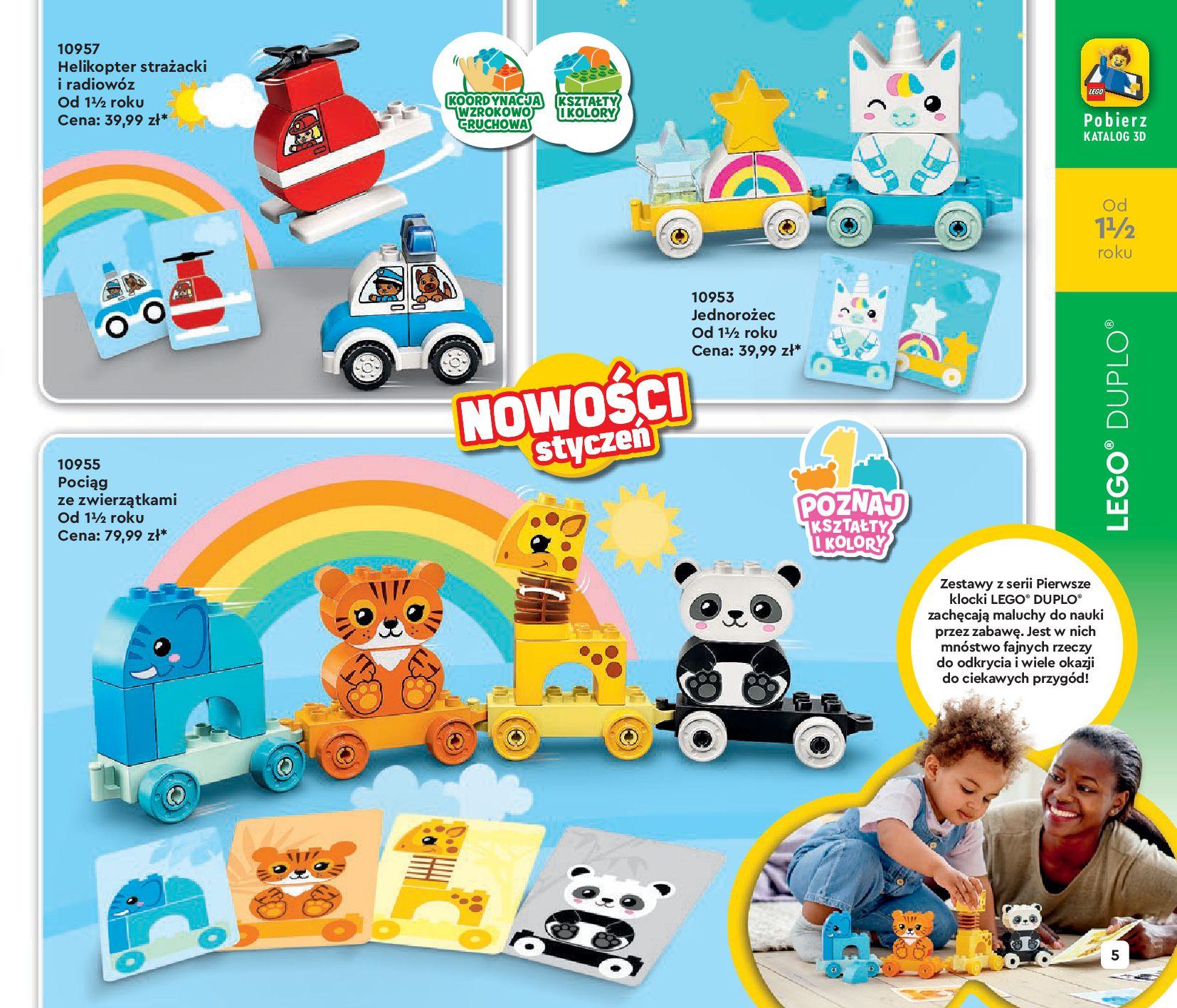Gazetka LEGO: Katalog LEGO STYCZEŃ-MAJ 2021 2021-01-01 page-5