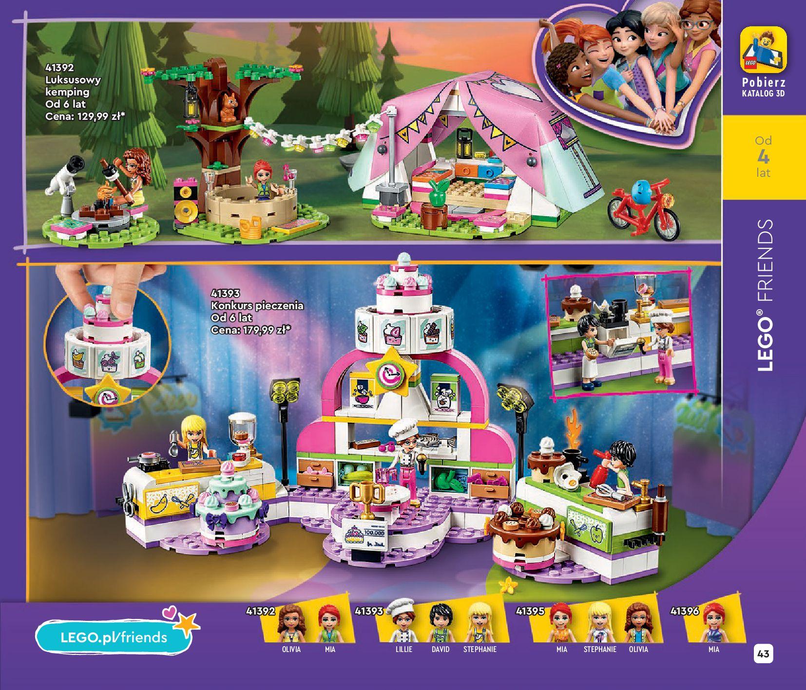 Gazetka LEGO: Katalog LEGO STYCZEŃ-MAJ 2021 2021-01-01 page-43