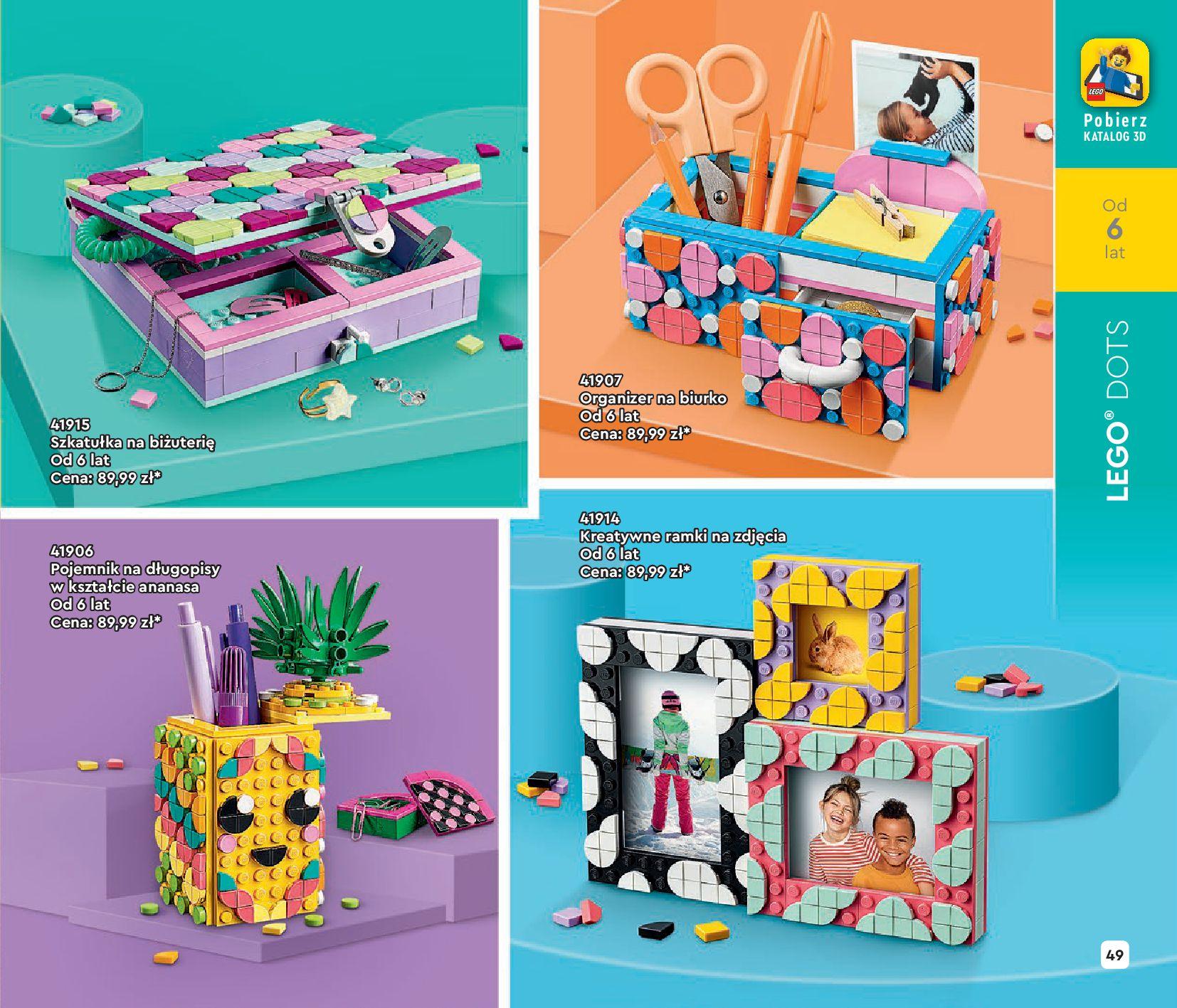 Gazetka LEGO: Katalog LEGO STYCZEŃ-MAJ 2021 2021-01-01 page-49
