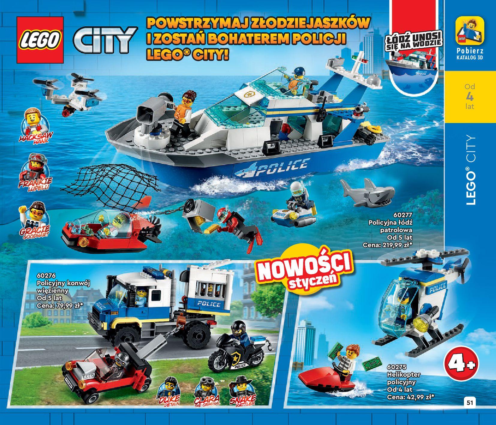 Gazetka LEGO: Katalog LEGO STYCZEŃ-MAJ 2021 2021-01-01 page-51