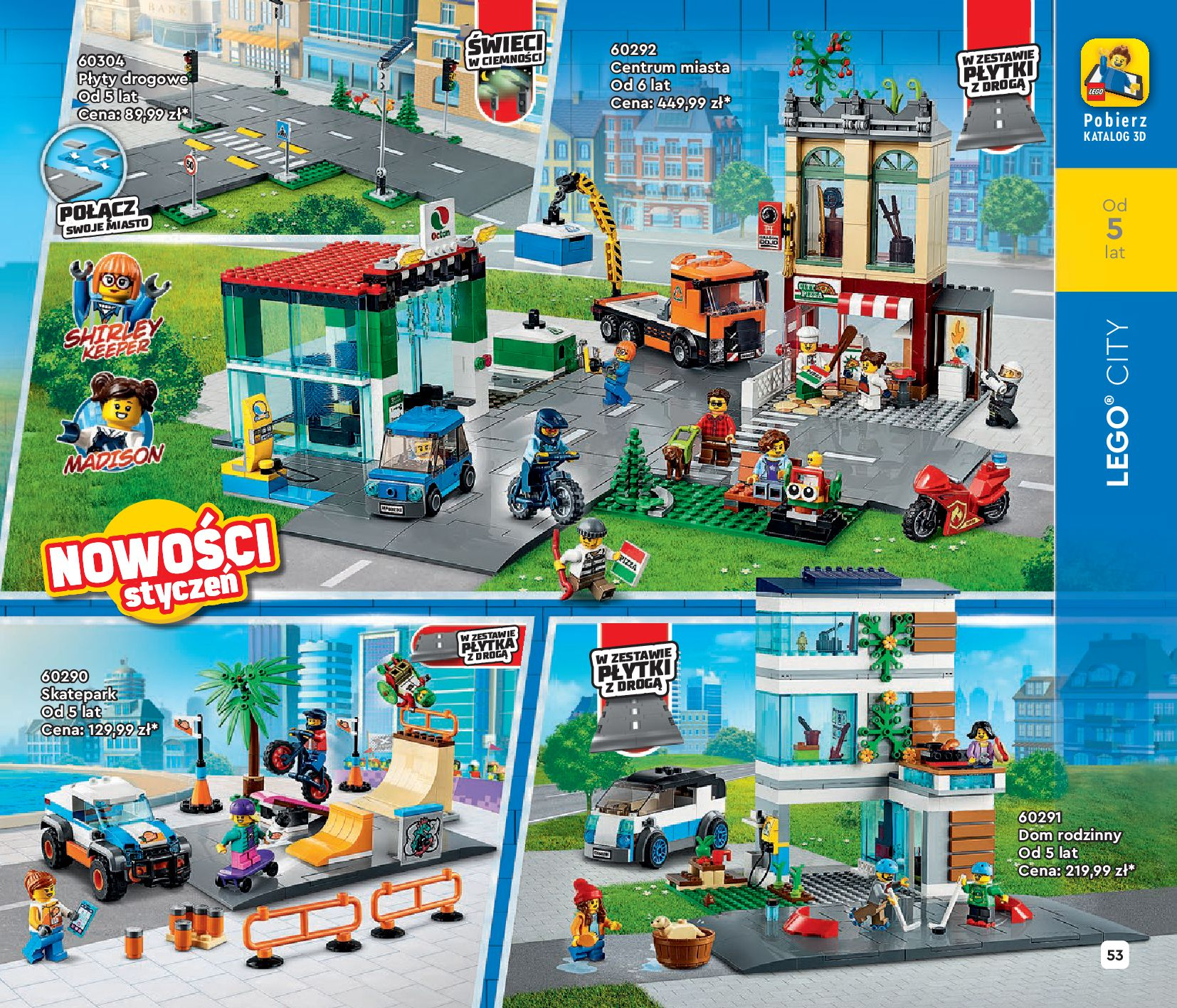 Gazetka LEGO: Katalog LEGO STYCZEŃ-MAJ 2021 2021-01-01 page-53