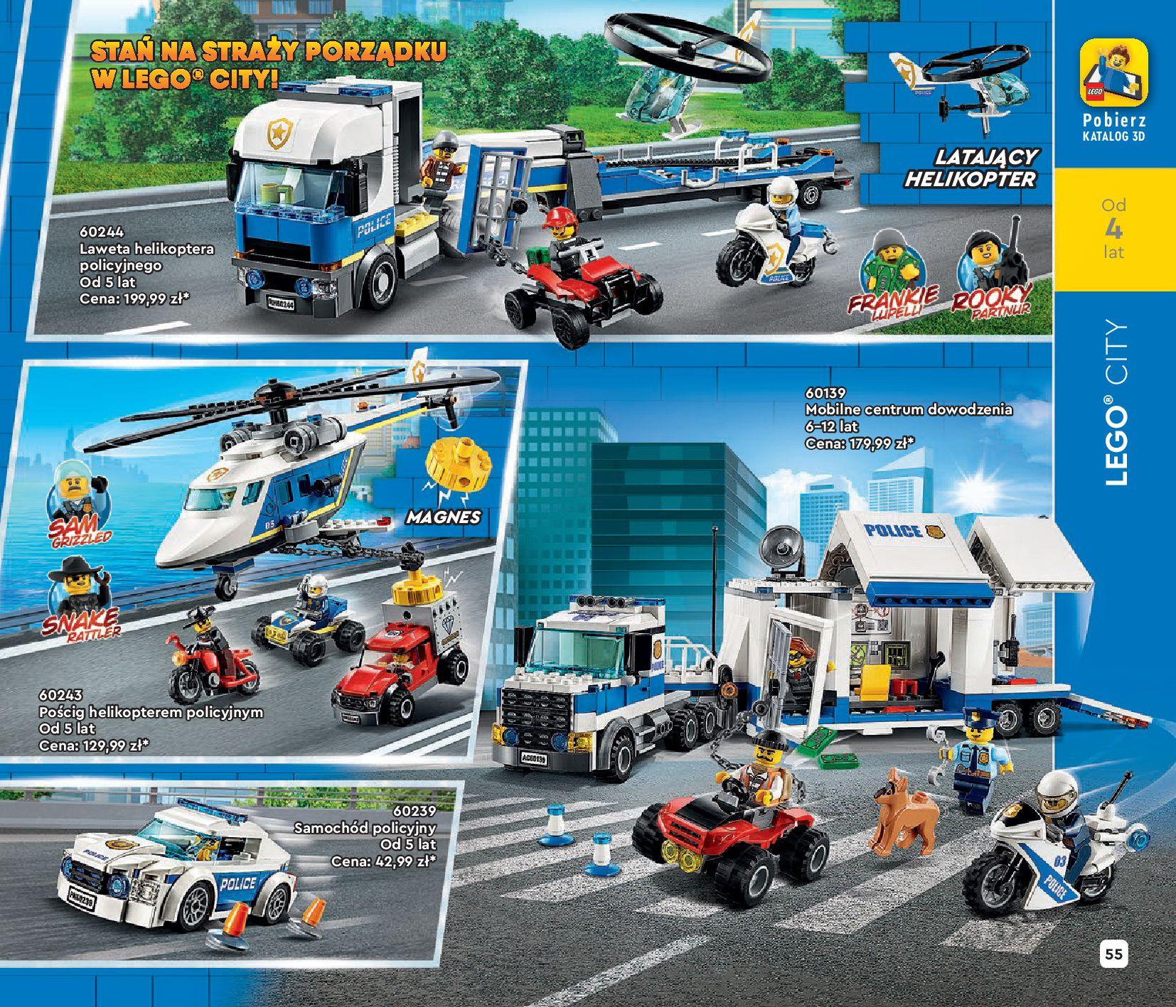Gazetka LEGO: Katalog LEGO STYCZEŃ-MAJ 2021 2021-01-01 page-55