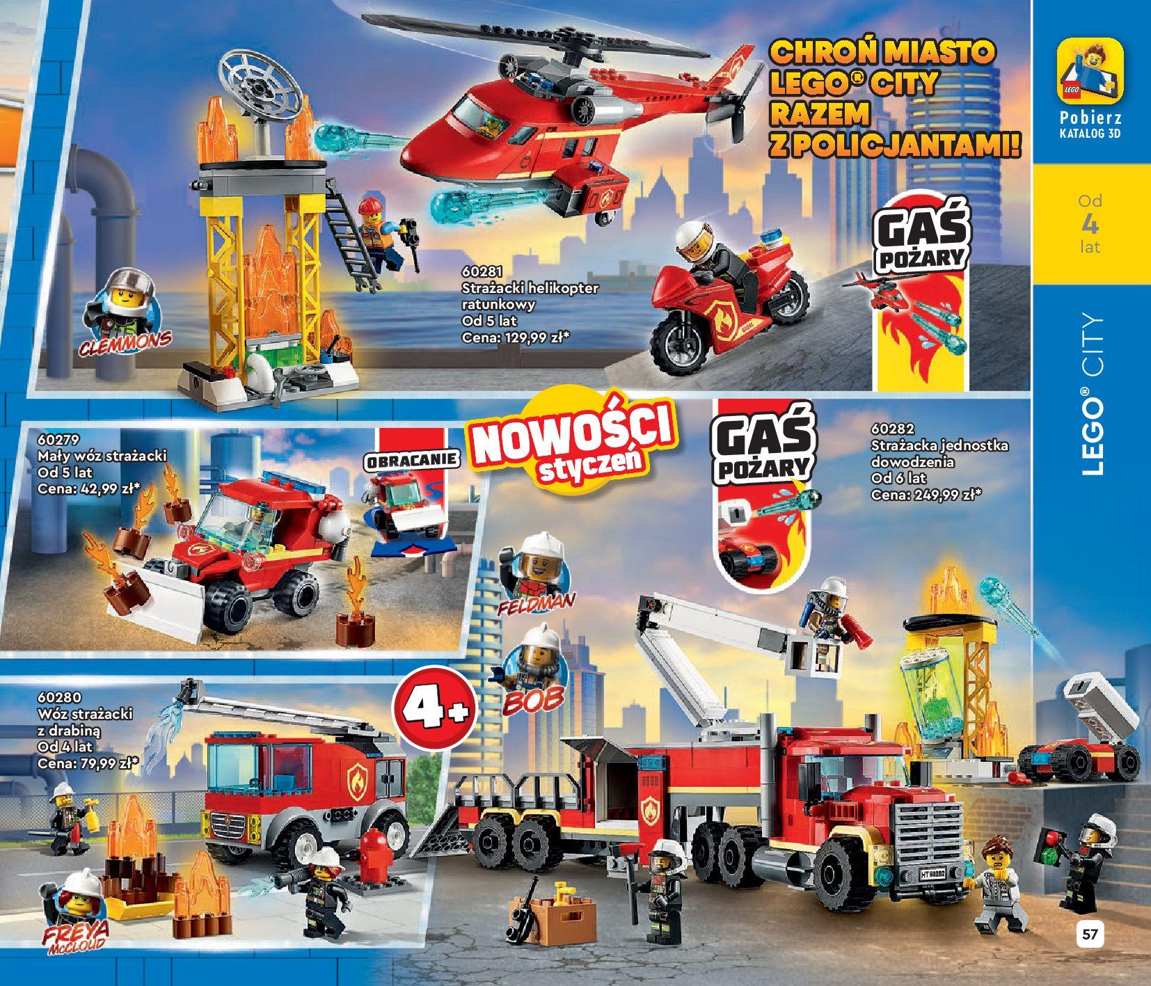Gazetka LEGO: Katalog LEGO STYCZEŃ-MAJ 2021 2021-01-01 page-57