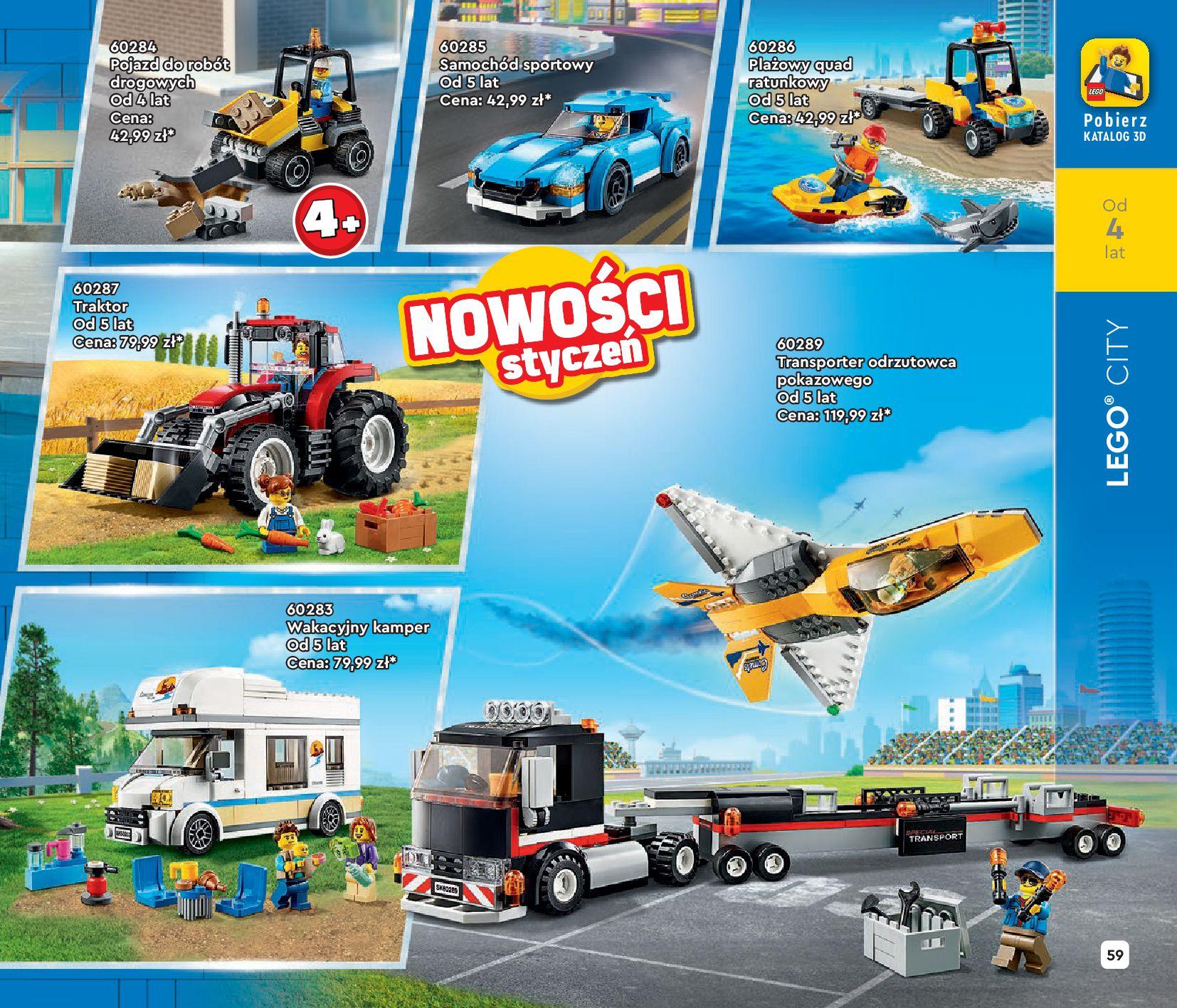 Gazetka LEGO: Katalog LEGO STYCZEŃ-MAJ 2021 2021-01-01 page-59