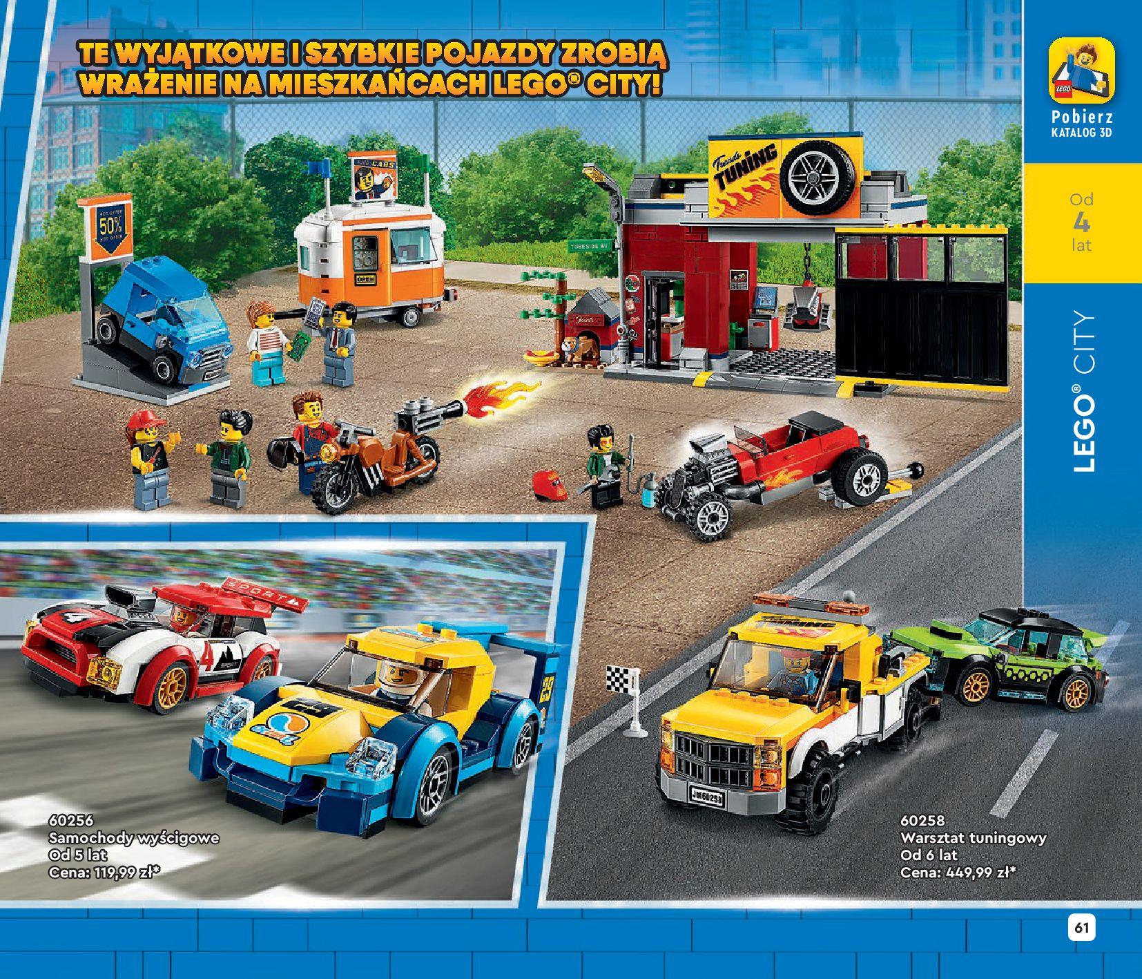 Gazetka LEGO: Katalog LEGO STYCZEŃ-MAJ 2021 2021-01-01 page-61