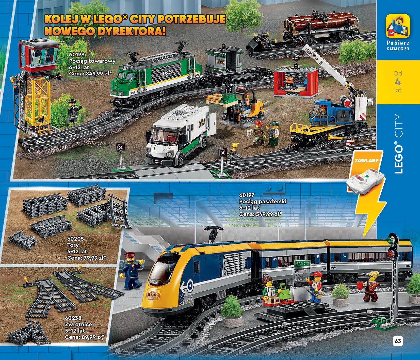 Gazetka LEGO: Katalog LEGO STYCZEŃ-MAJ 2021 2021-01-01 page-63