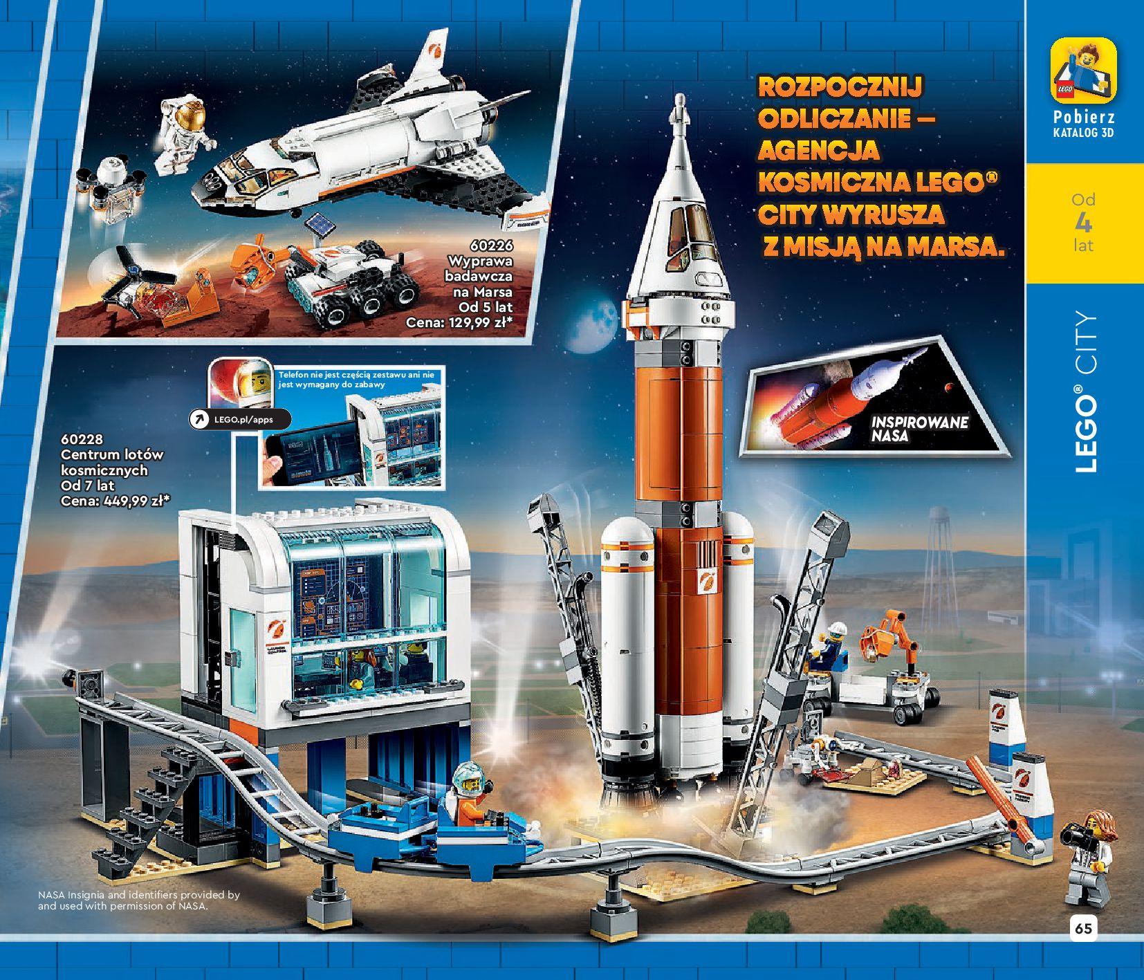 Gazetka LEGO: Katalog LEGO STYCZEŃ-MAJ 2021 2021-01-01 page-65