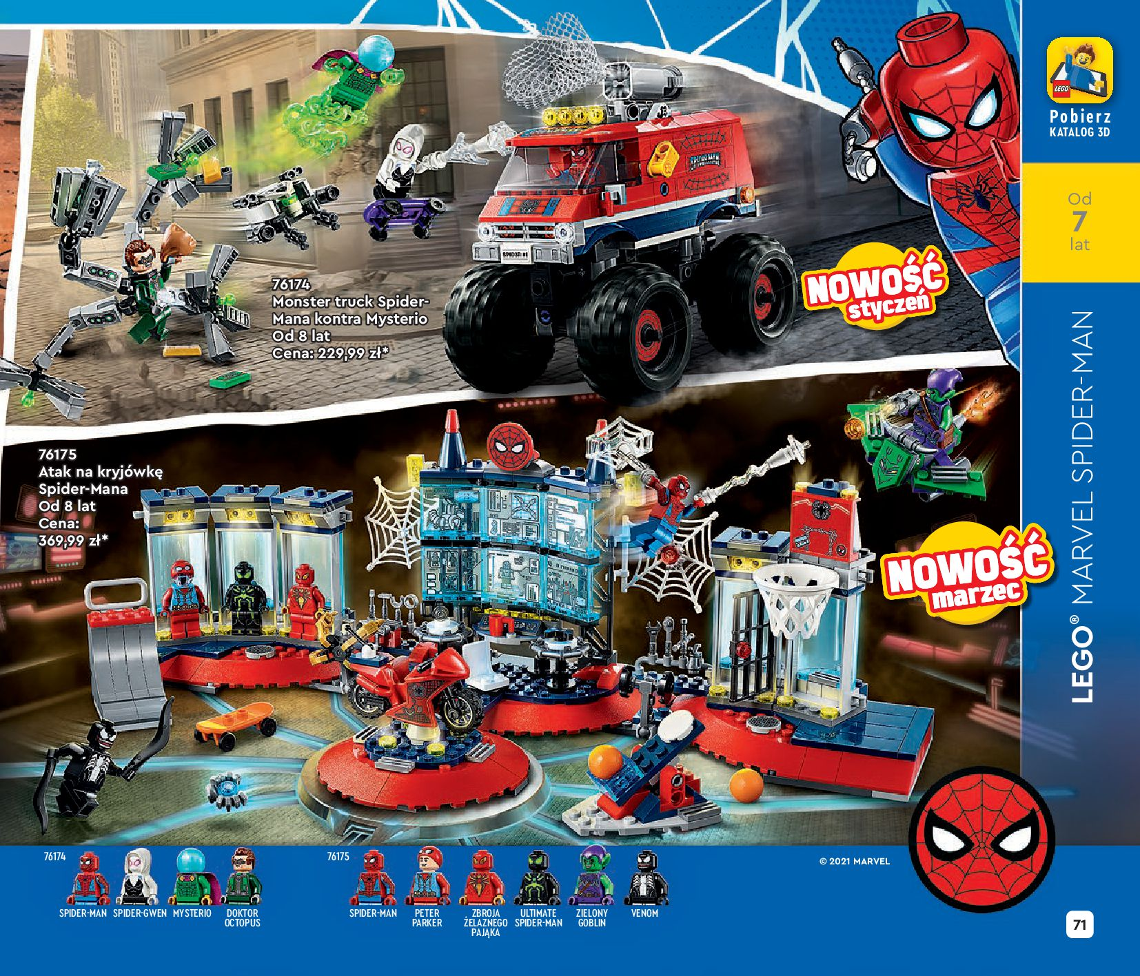 Gazetka LEGO: Katalog LEGO STYCZEŃ-MAJ 2021 2021-01-01 page-71