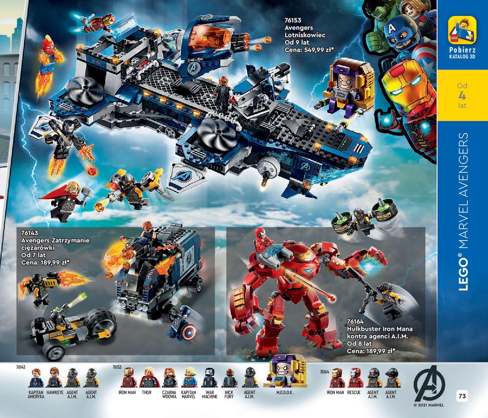 Gazetka LEGO: Katalog LEGO STYCZEŃ-MAJ 2021 2021-01-01 page-73