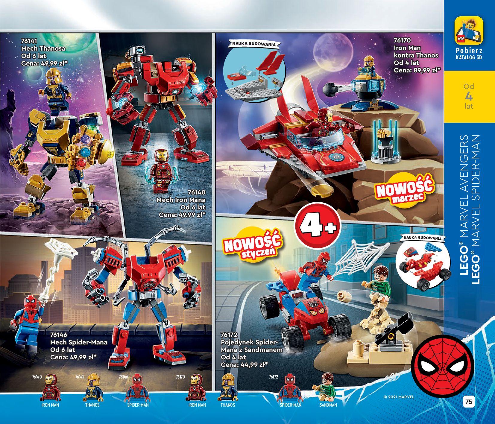Gazetka LEGO: Katalog LEGO STYCZEŃ-MAJ 2021 2021-01-01 page-75