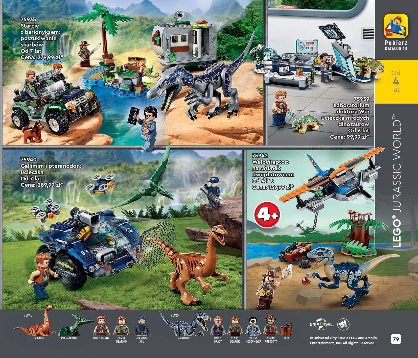 Gazetka LEGO: Katalog LEGO STYCZEŃ-MAJ 2021 2021-01-01 page-79
