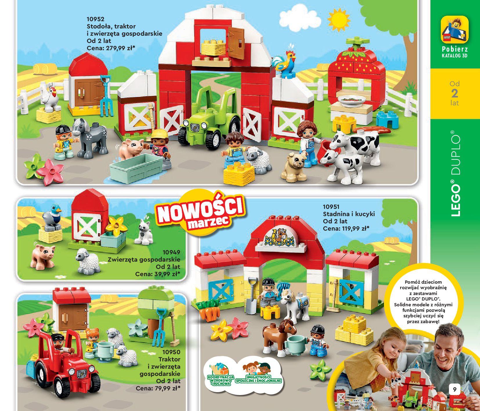 Gazetka LEGO: Katalog LEGO STYCZEŃ-MAJ 2021 2021-01-01 page-9