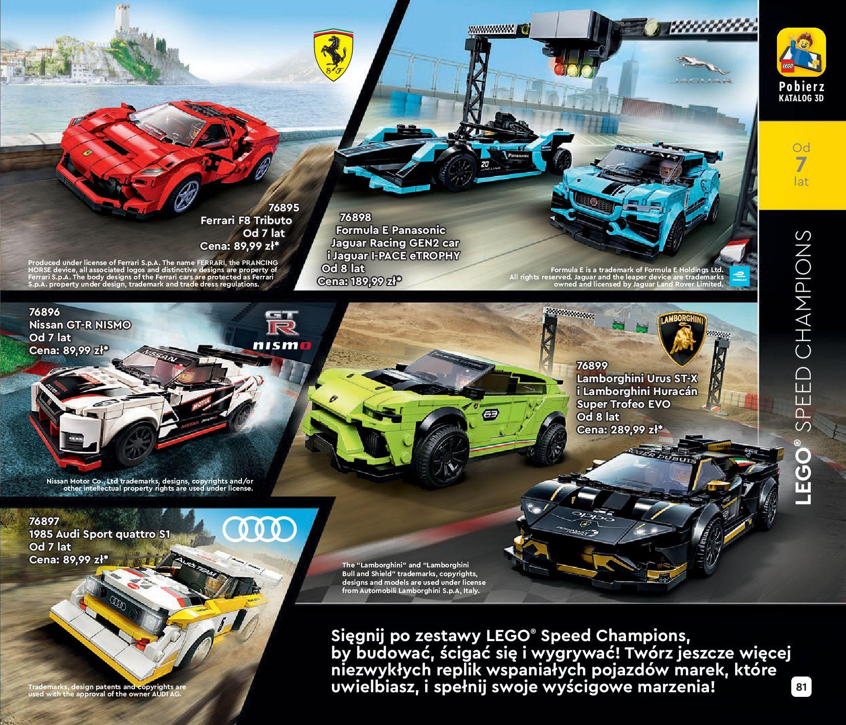Gazetka LEGO: Katalog LEGO STYCZEŃ-MAJ 2021 2021-01-01 page-81