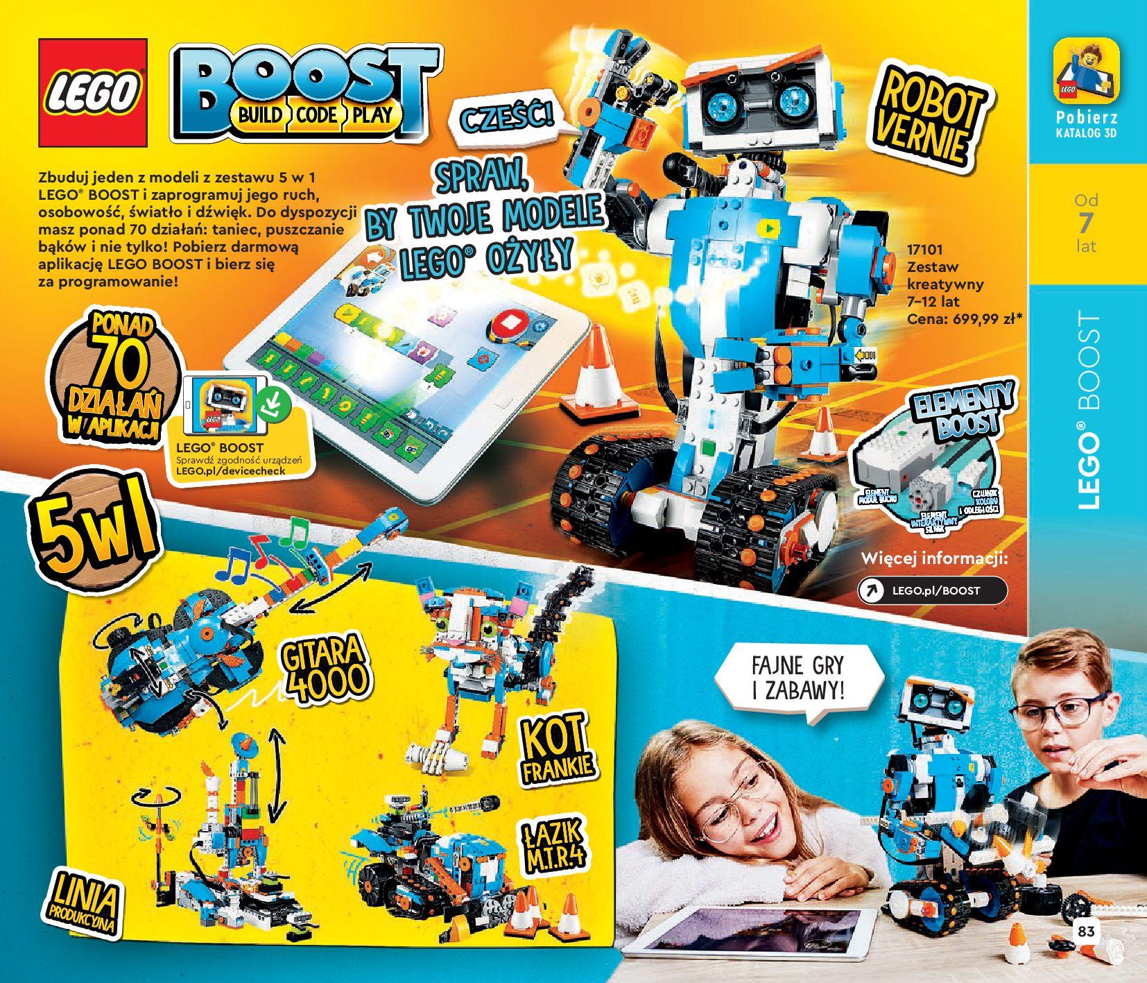 Gazetka LEGO: Katalog LEGO STYCZEŃ-MAJ 2021 2021-01-01 page-83
