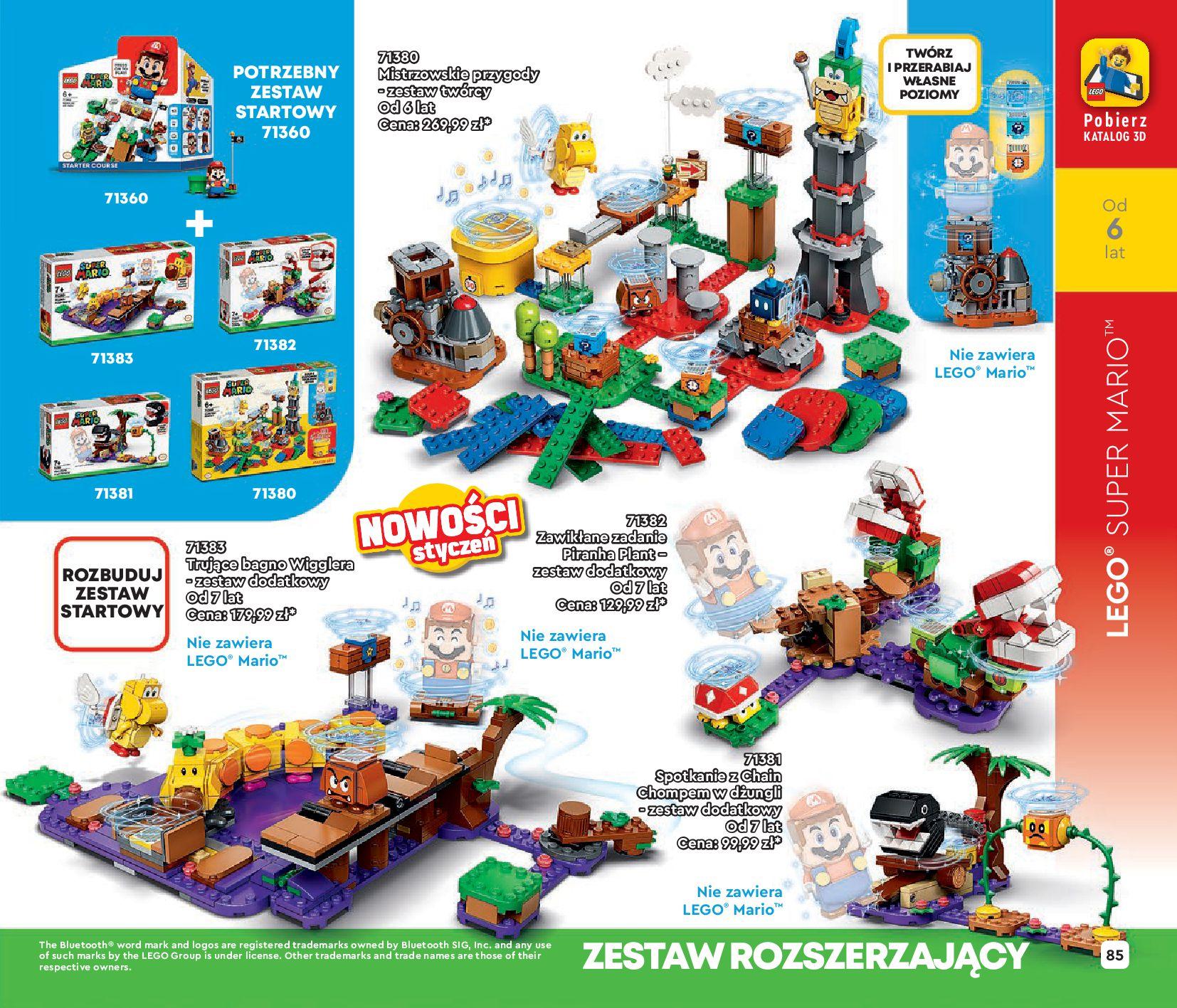 Gazetka LEGO: Katalog LEGO STYCZEŃ-MAJ 2021 2021-01-01 page-85