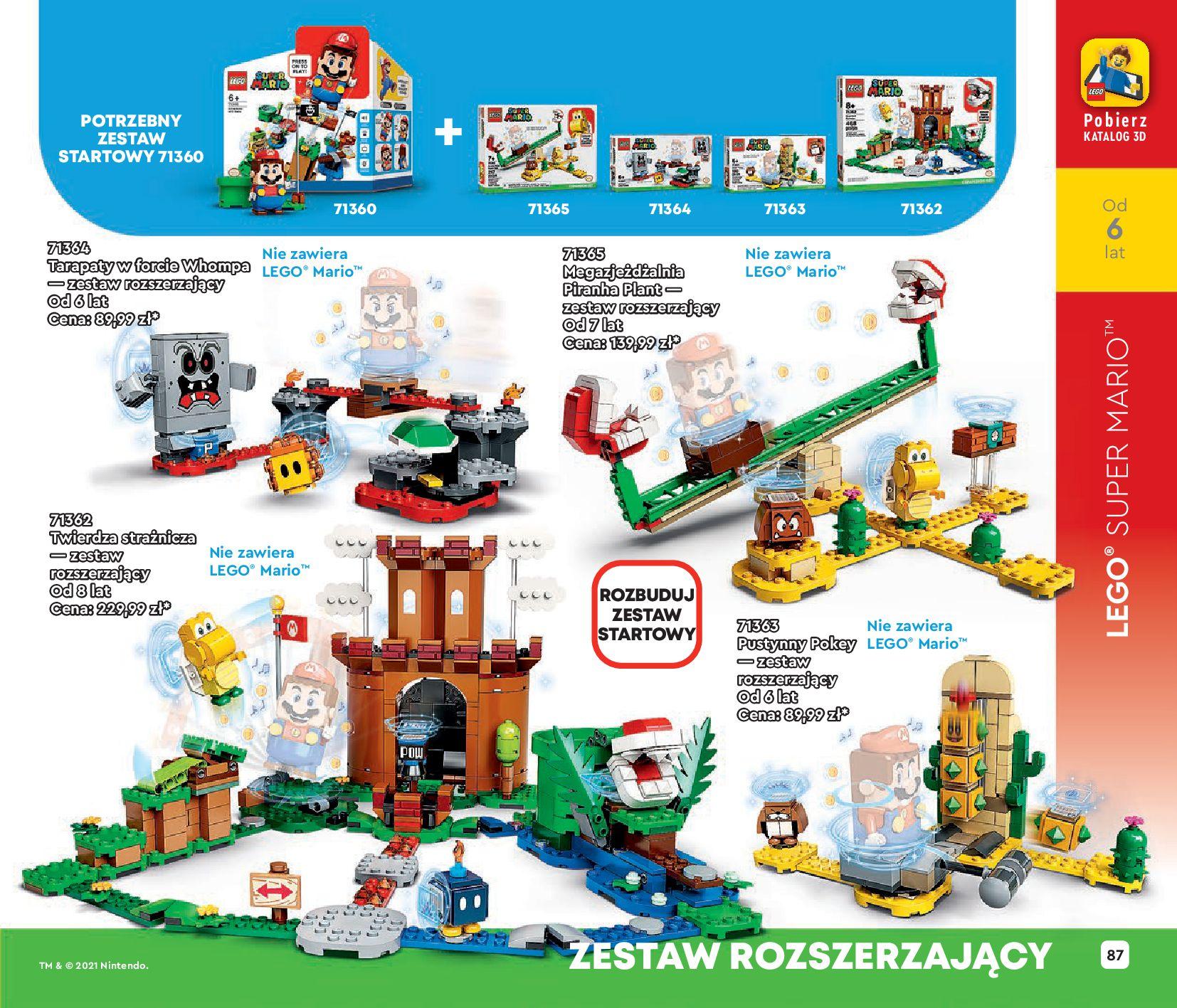 Gazetka LEGO: Katalog LEGO STYCZEŃ-MAJ 2021 2021-01-01 page-87