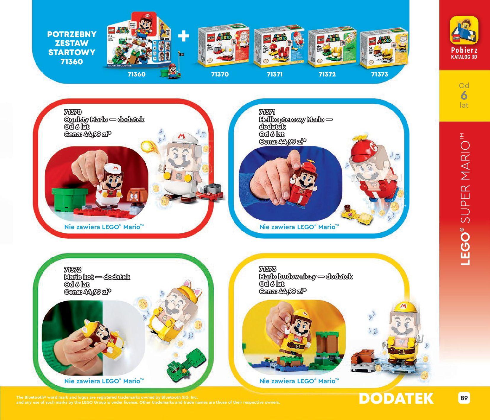 Gazetka LEGO: Katalog LEGO STYCZEŃ-MAJ 2021 2021-01-01 page-89