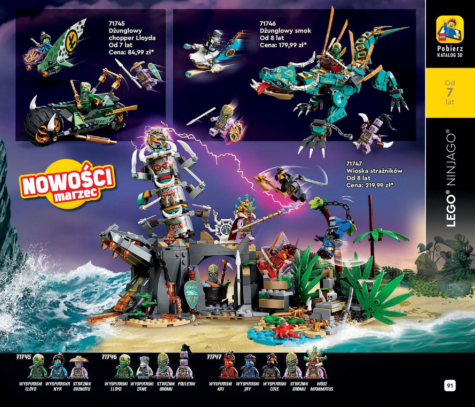 Gazetka LEGO: Katalog LEGO STYCZEŃ-MAJ 2021 2021-01-01 page-91