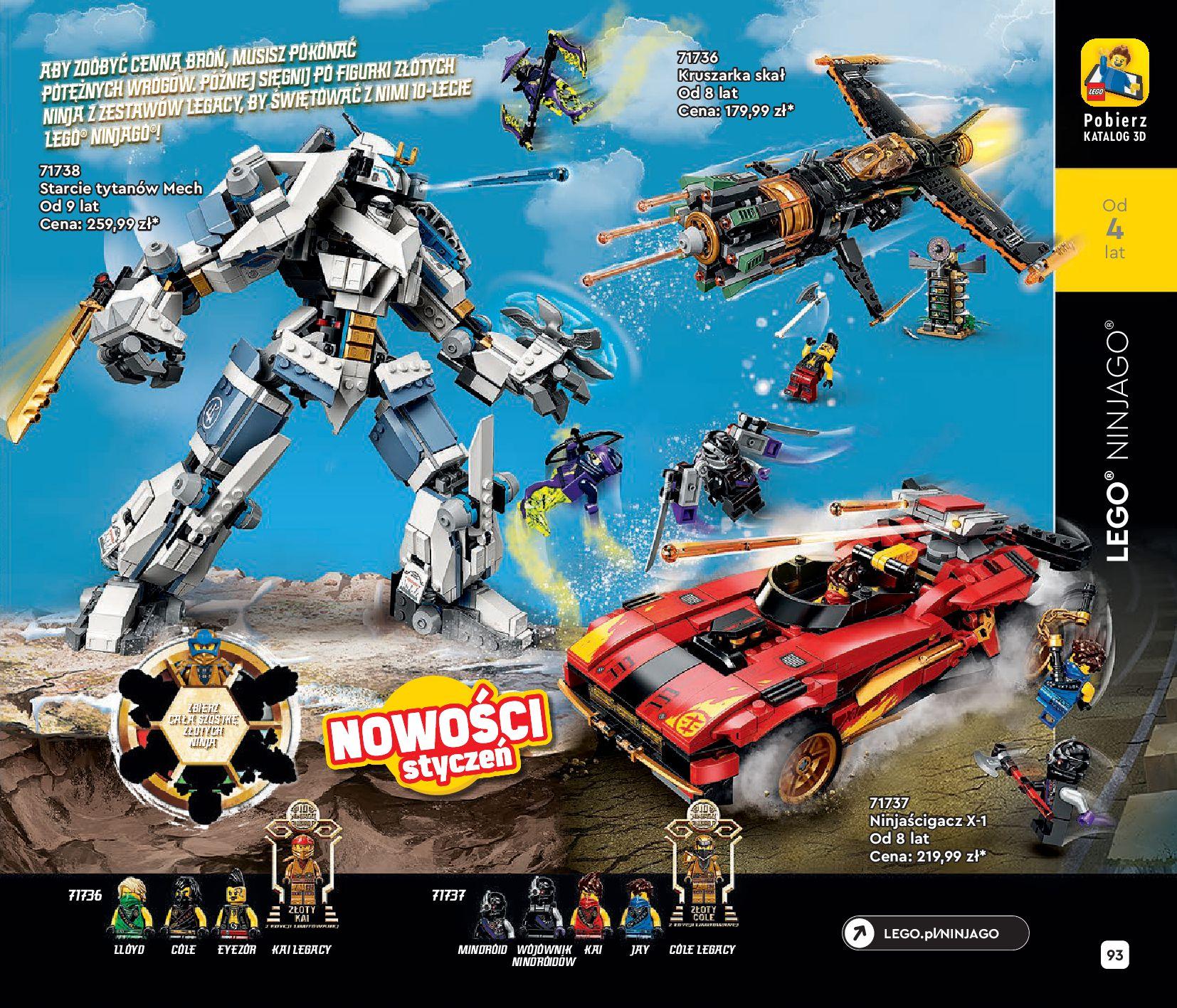 Gazetka LEGO: Katalog LEGO STYCZEŃ-MAJ 2021 2021-01-01 page-93