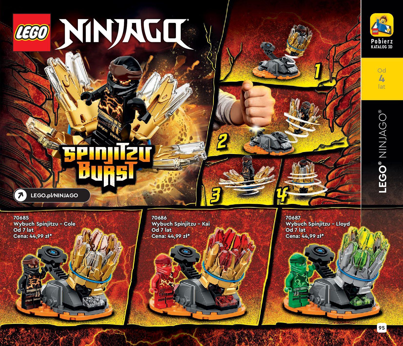 Gazetka LEGO: Katalog LEGO STYCZEŃ-MAJ 2021 2021-01-01 page-95