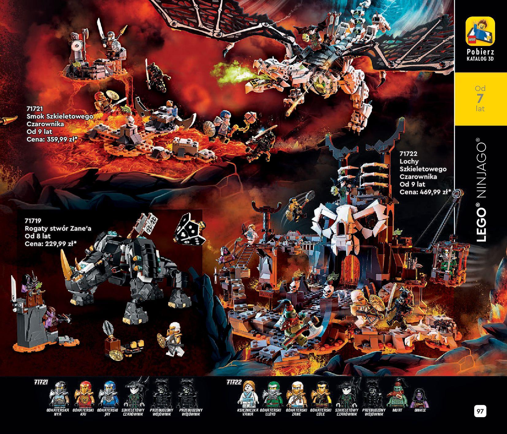 Gazetka LEGO: Katalog LEGO STYCZEŃ-MAJ 2021 2021-01-01 page-97