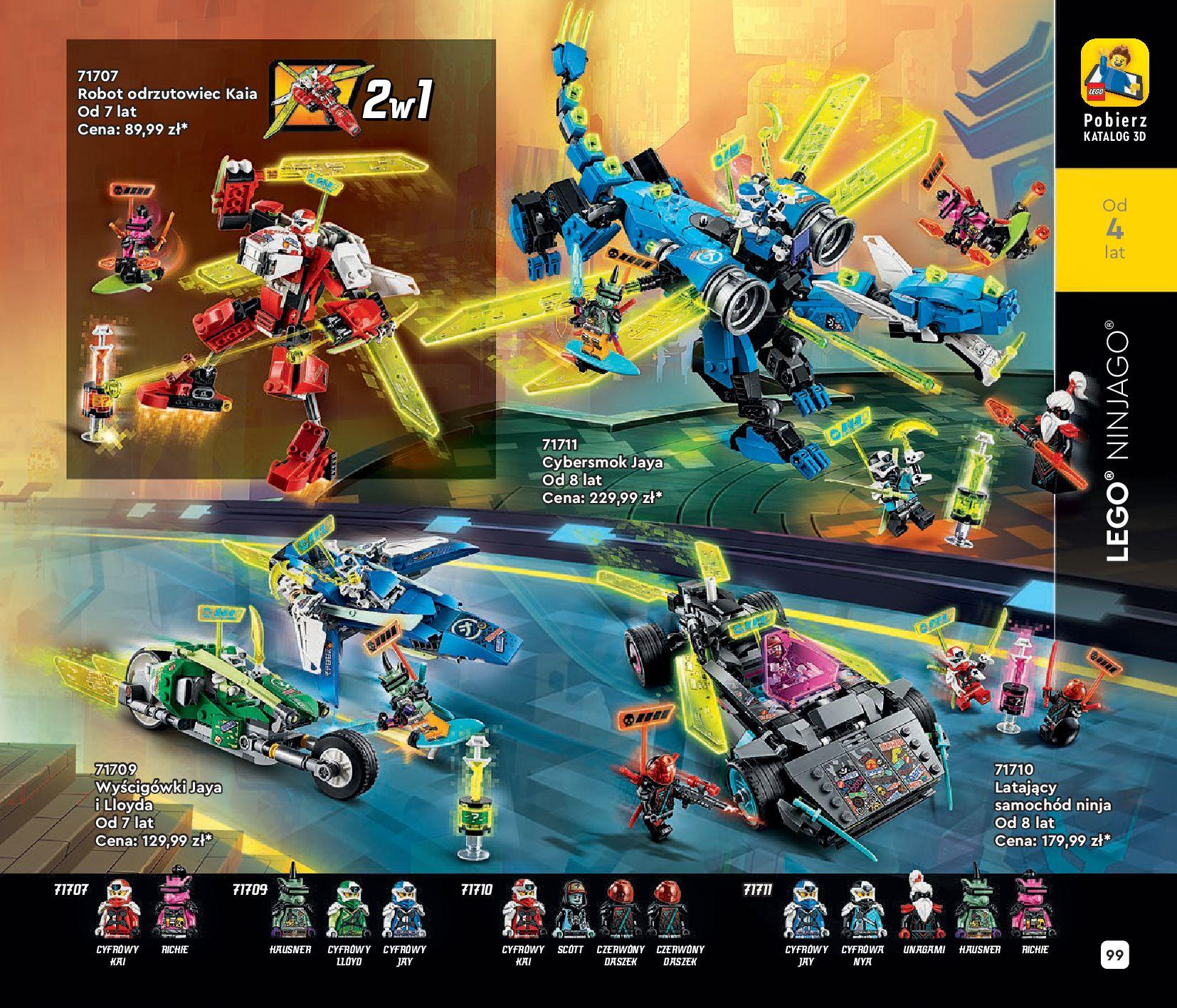 Gazetka LEGO: Katalog LEGO STYCZEŃ-MAJ 2021 2021-01-01 page-99