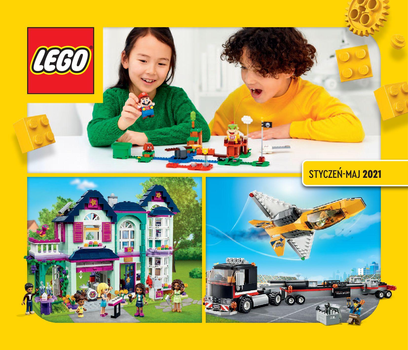 Gazetka LEGO: Katalog LEGO STYCZEŃ-MAJ 2021 2021-01-01 page-1