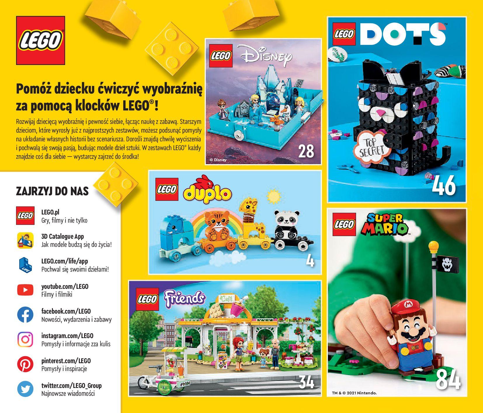 Gazetka LEGO: Katalog LEGO STYCZEŃ-MAJ 2021 2021-01-01 page-2
