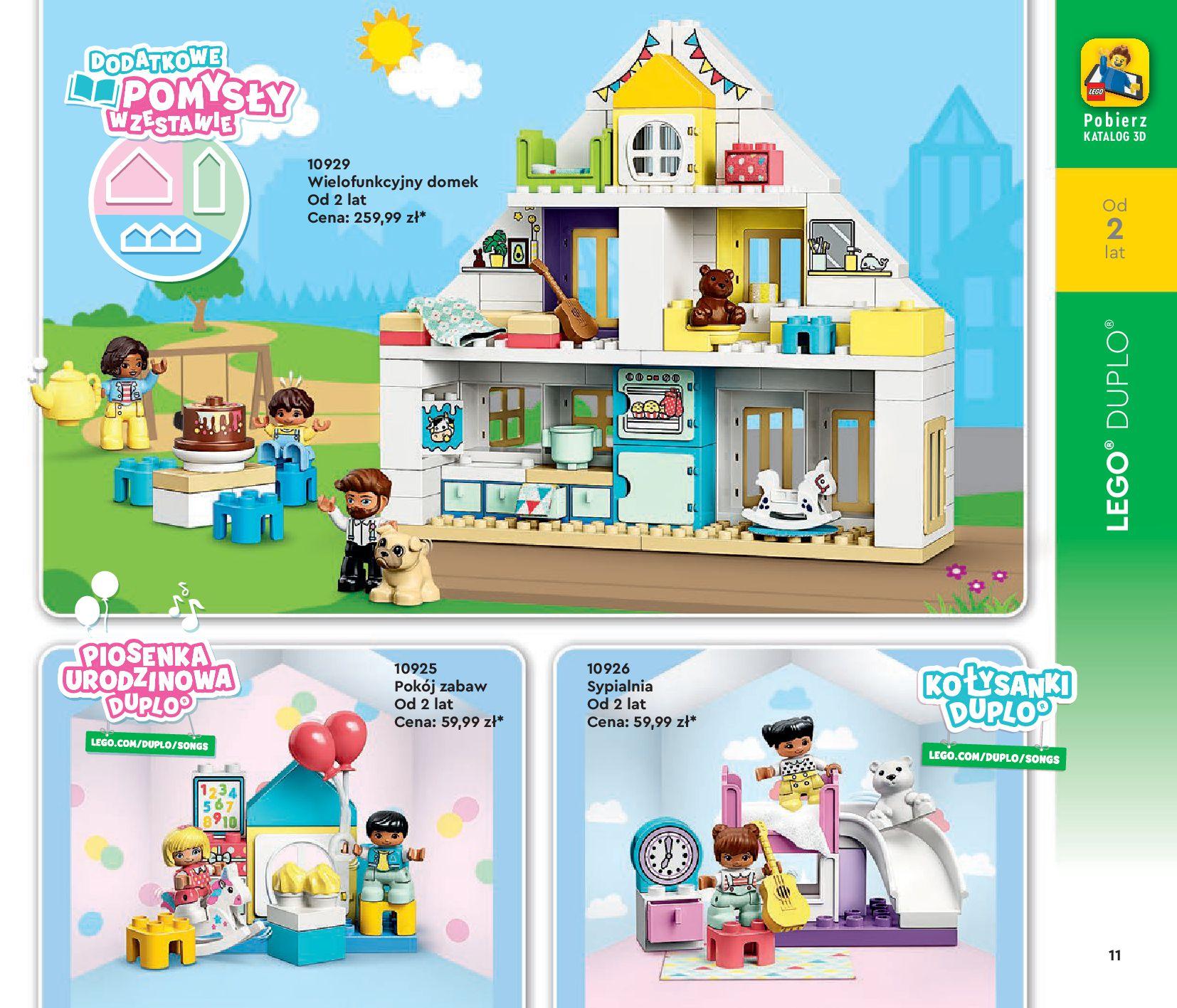 Gazetka LEGO: Katalog LEGO STYCZEŃ-MAJ 2021 2021-01-01 page-11