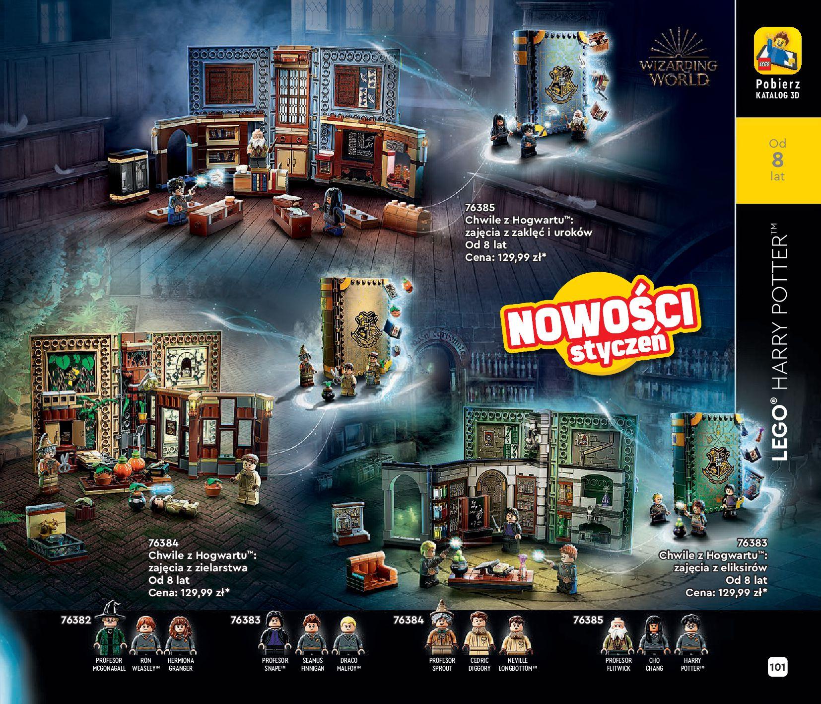 Gazetka LEGO: Katalog LEGO STYCZEŃ-MAJ 2021 2021-01-01 page-101