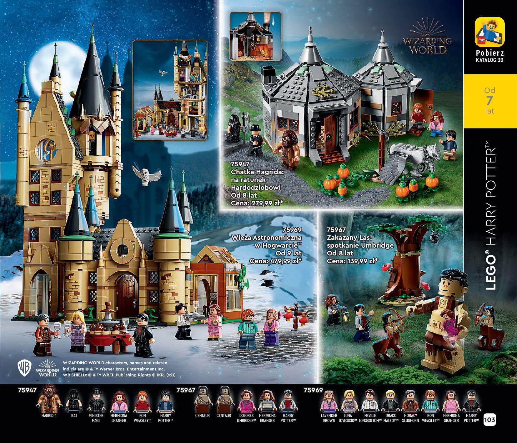 Gazetka LEGO: Katalog LEGO STYCZEŃ-MAJ 2021 2021-01-01 page-103