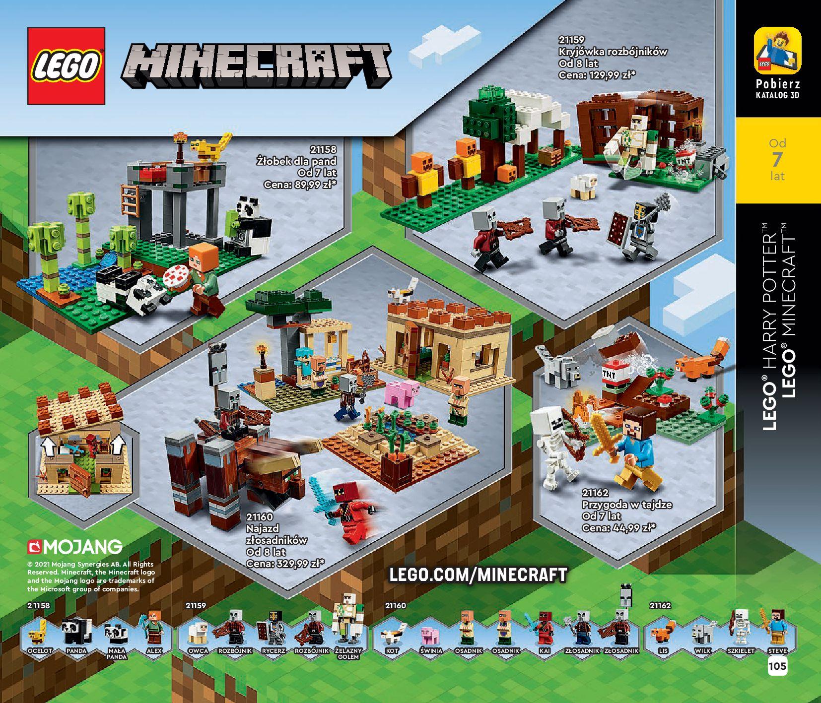 Gazetka LEGO: Katalog LEGO STYCZEŃ-MAJ 2021 2021-01-01 page-105