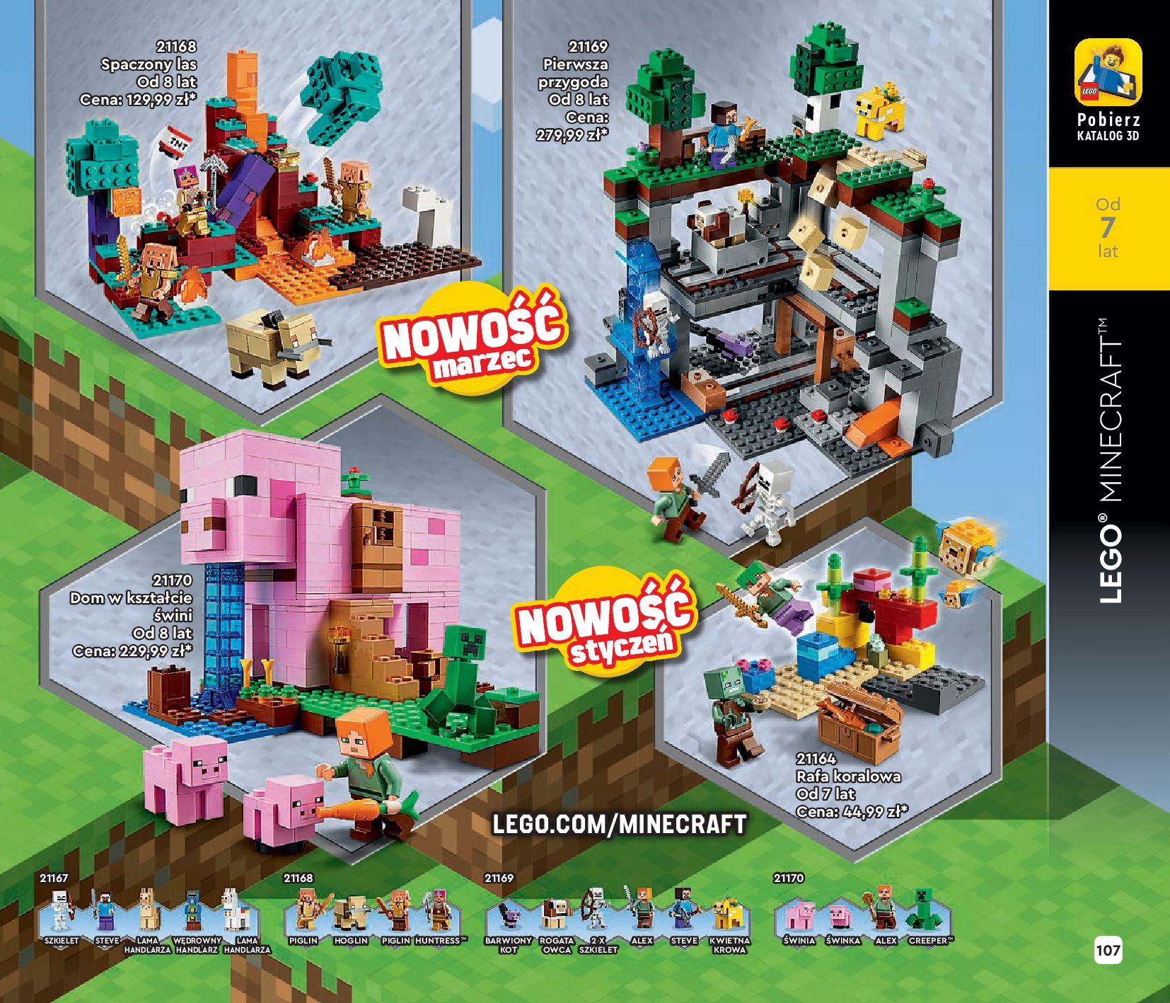 Gazetka LEGO: Katalog LEGO STYCZEŃ-MAJ 2021 2021-01-01 page-107