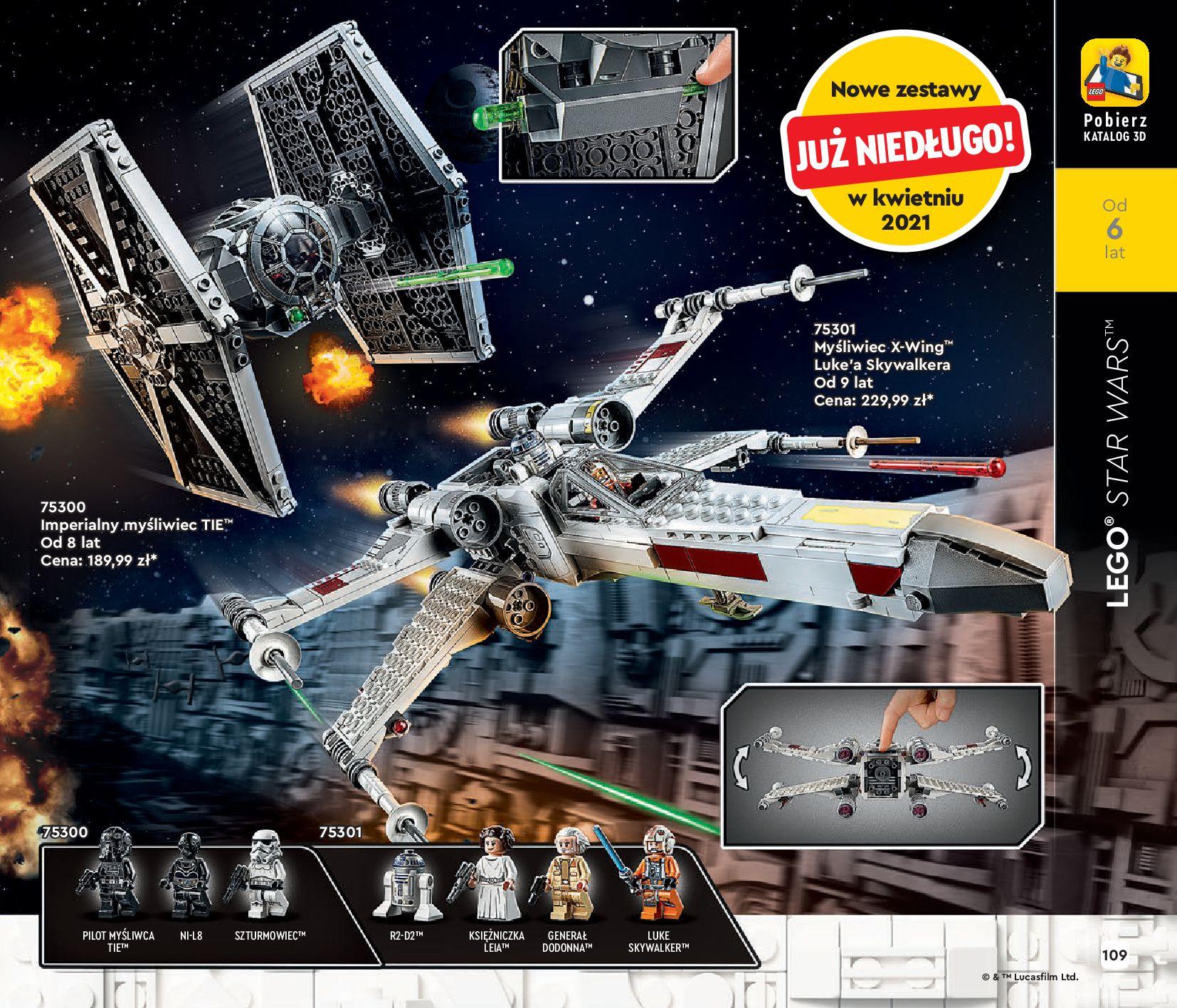 Gazetka LEGO: Katalog LEGO STYCZEŃ-MAJ 2021 2021-01-01 page-109