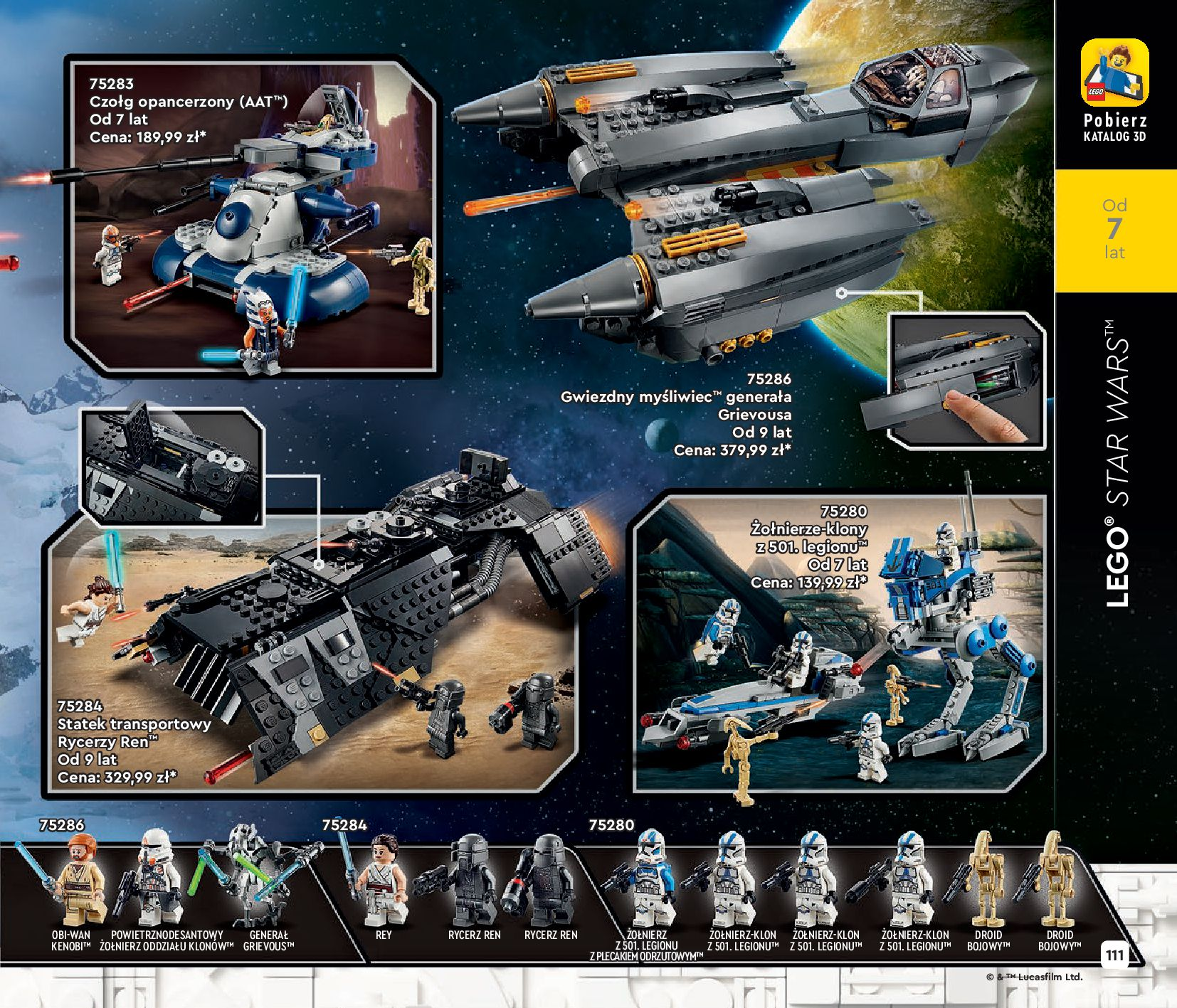 Gazetka LEGO: Katalog LEGO STYCZEŃ-MAJ 2021 2021-01-01 page-111