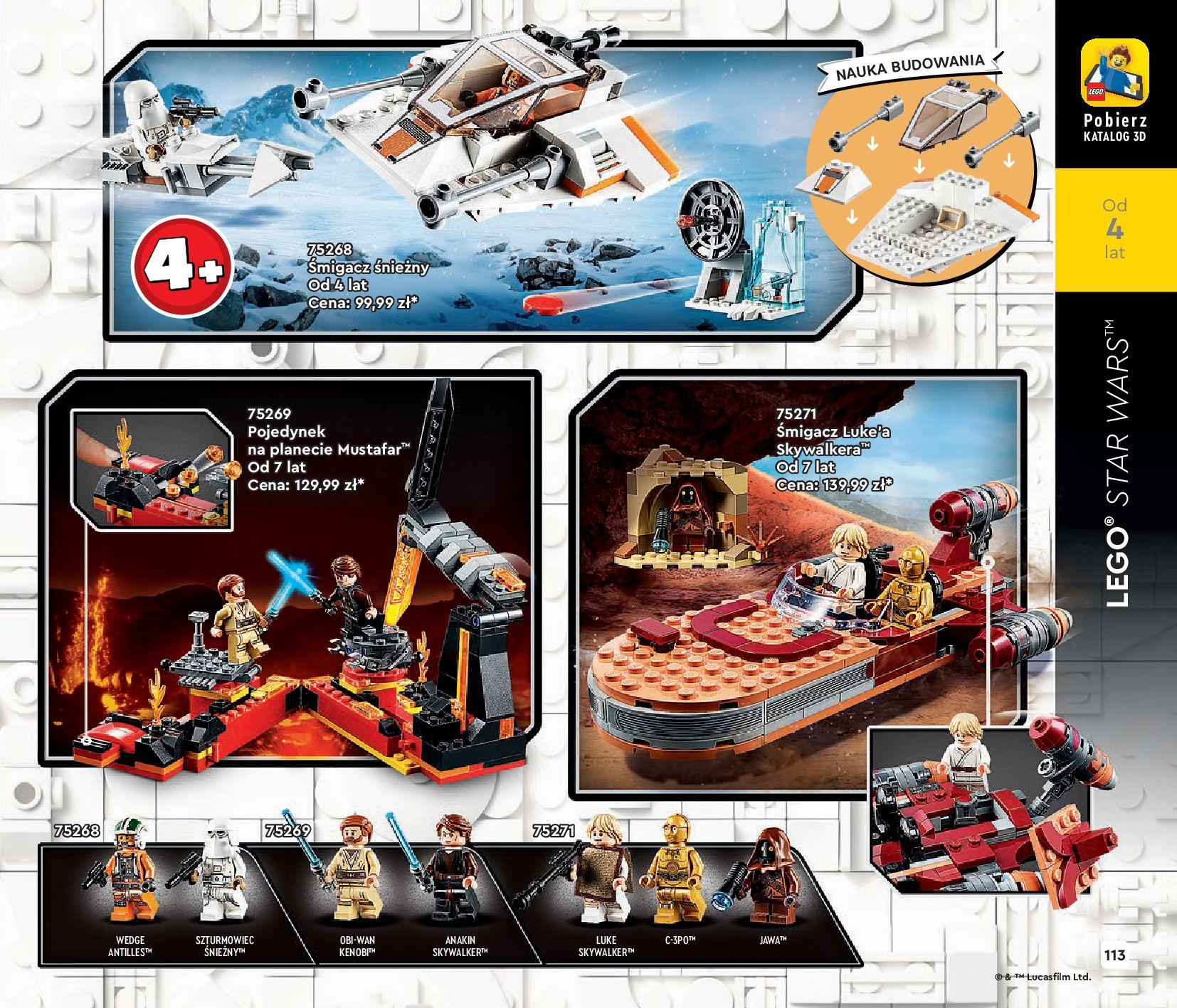 Gazetka LEGO: Katalog LEGO STYCZEŃ-MAJ 2021 2021-01-01 page-113