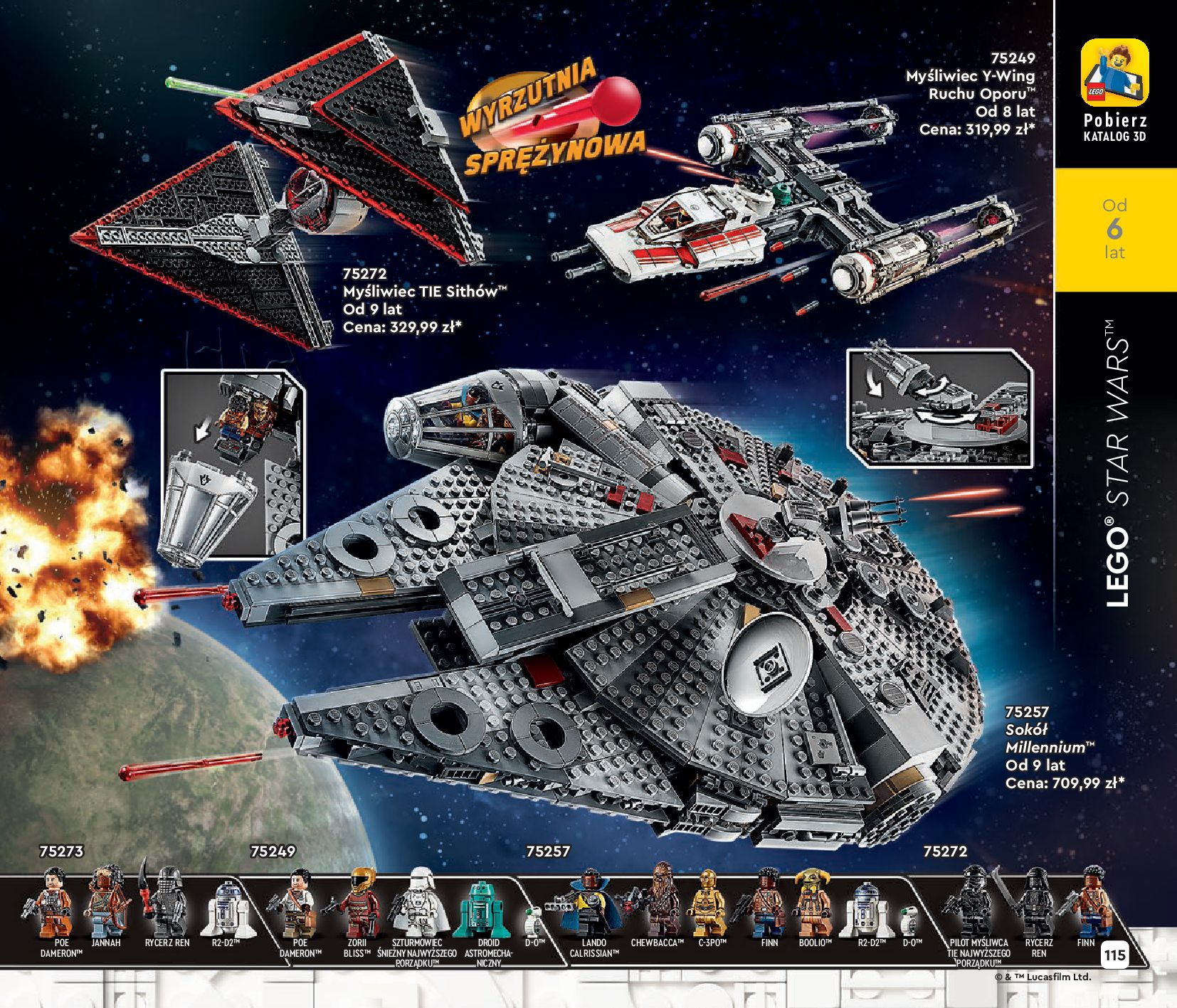 Gazetka LEGO: Katalog LEGO STYCZEŃ-MAJ 2021 2021-01-01 page-115