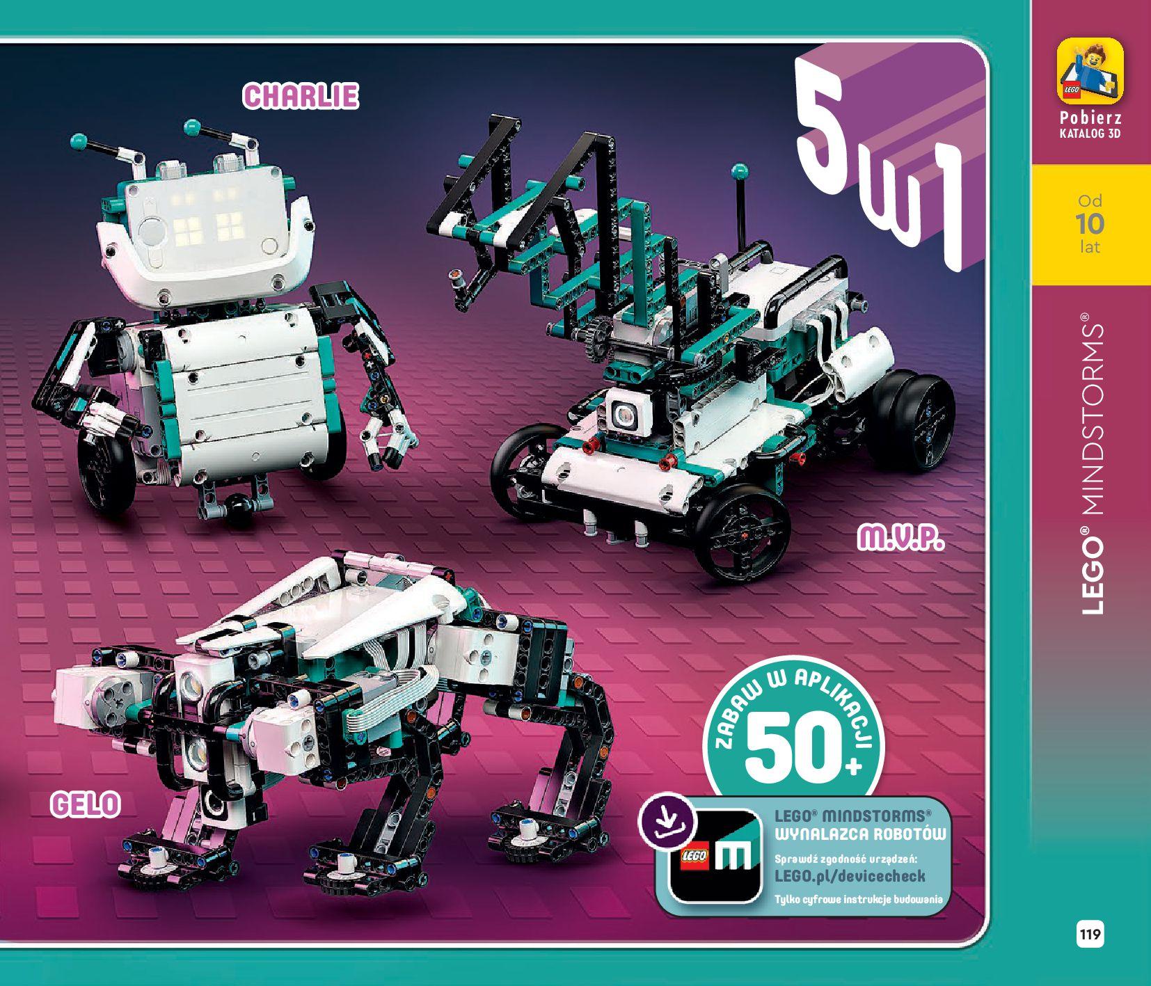Gazetka LEGO: Katalog LEGO STYCZEŃ-MAJ 2021 2021-01-01 page-119