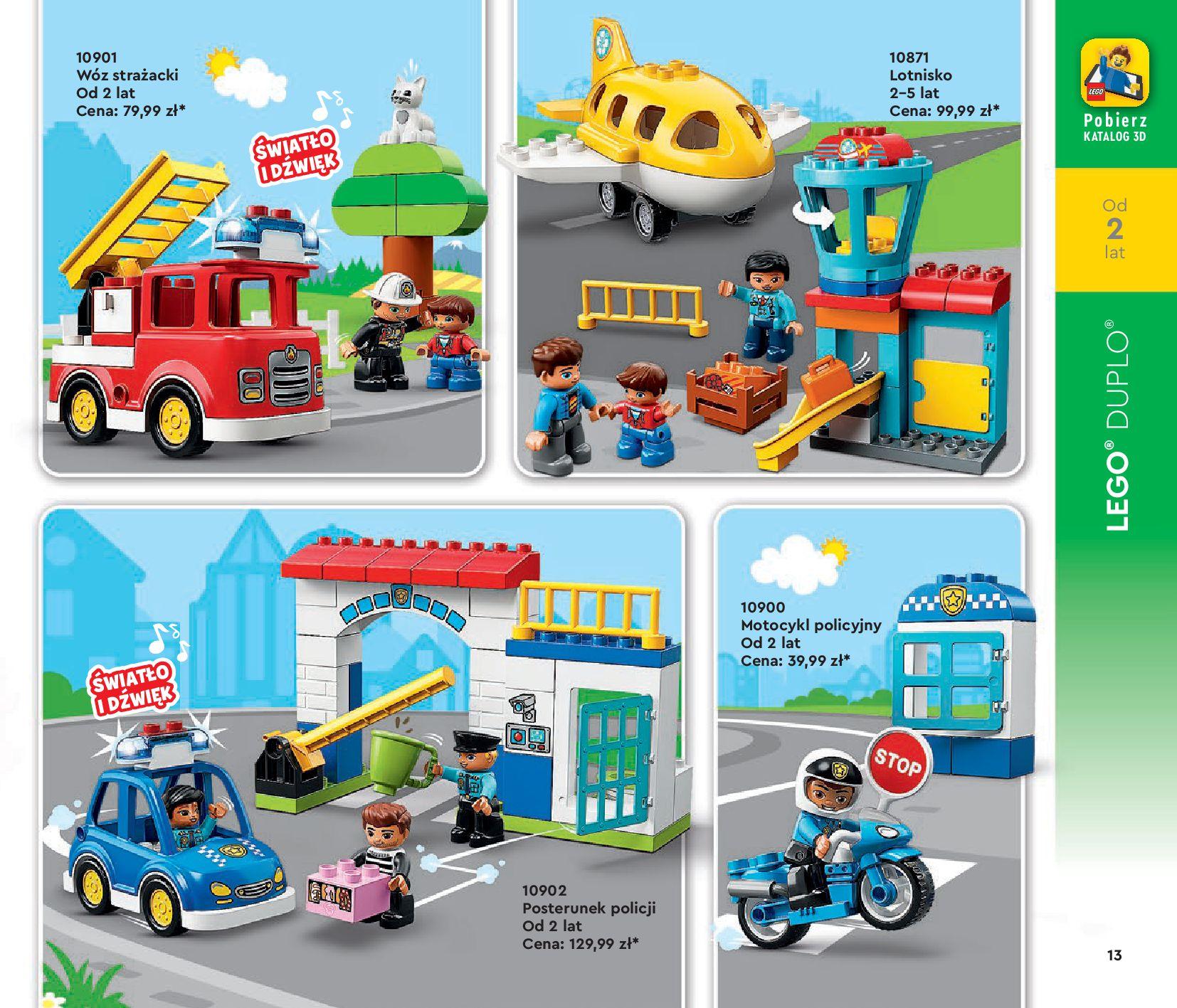 Gazetka LEGO: Katalog LEGO STYCZEŃ-MAJ 2021 2021-01-01 page-13