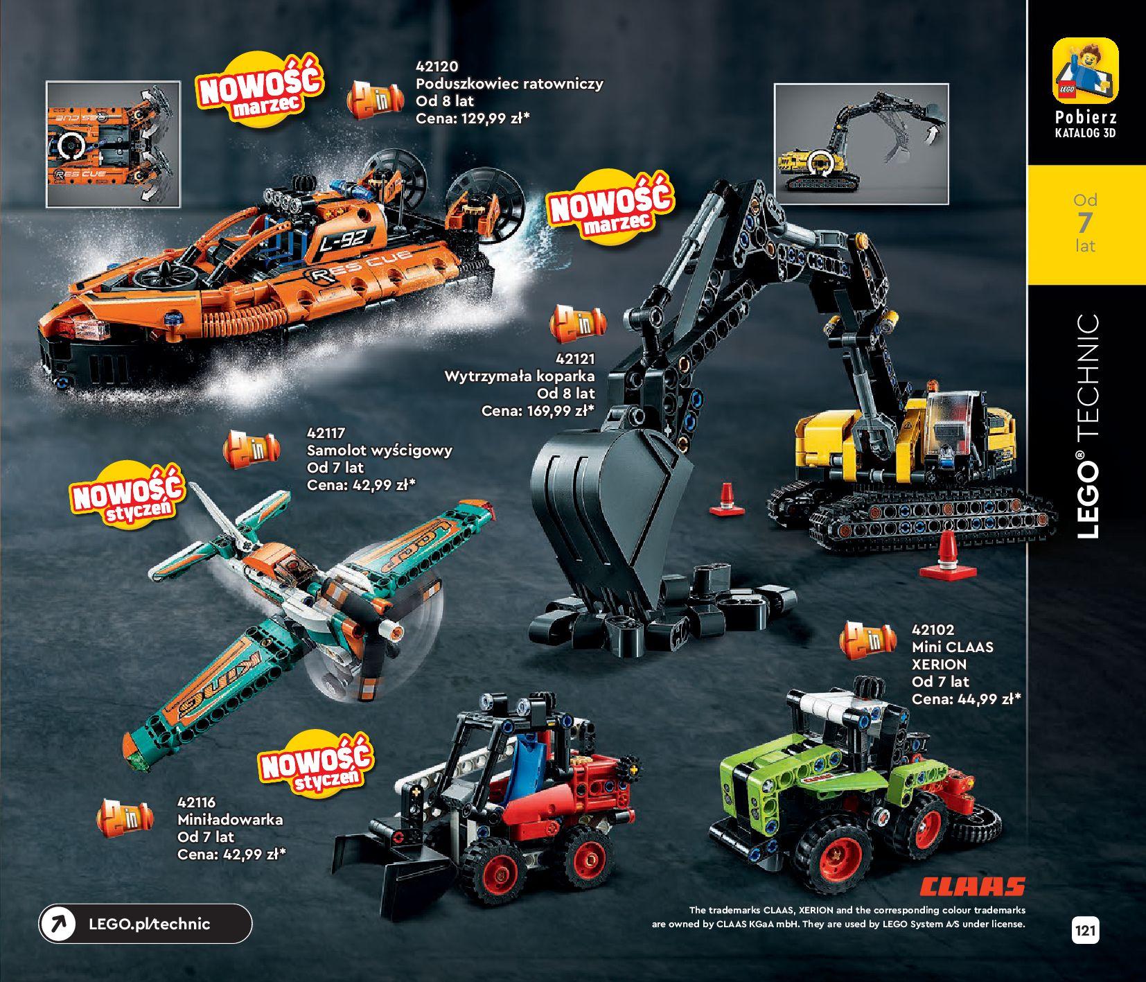 Gazetka LEGO: Katalog LEGO STYCZEŃ-MAJ 2021 2021-01-01 page-121
