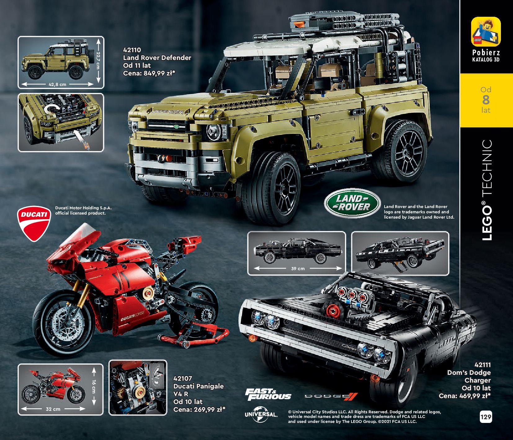 Gazetka LEGO: Katalog LEGO STYCZEŃ-MAJ 2021 2021-01-01 page-129